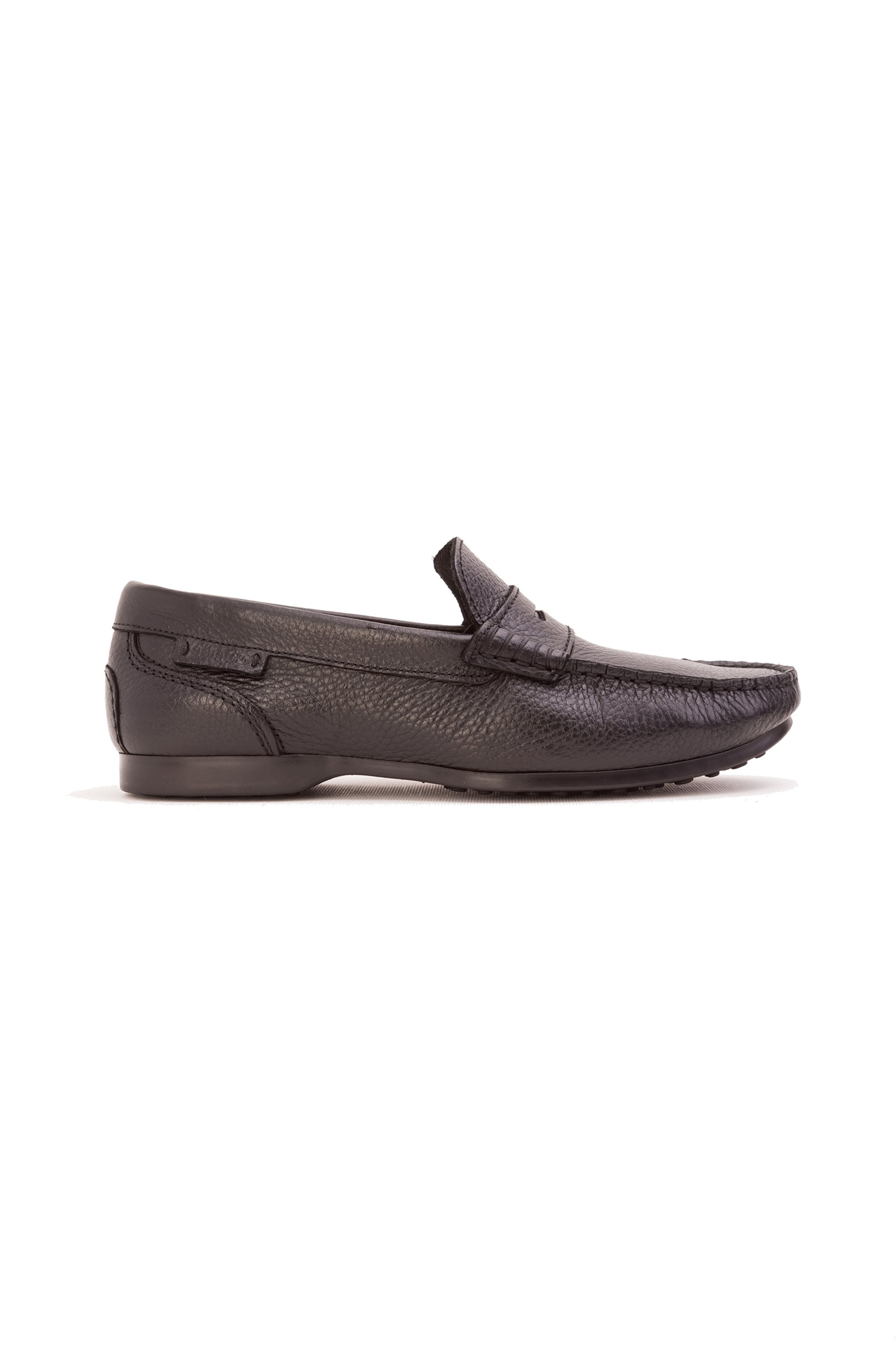 2cca2e546b5 Notos Ανδρικά loafers με σαγρέ δέρμα Sebago - B160062 - Μαύρο