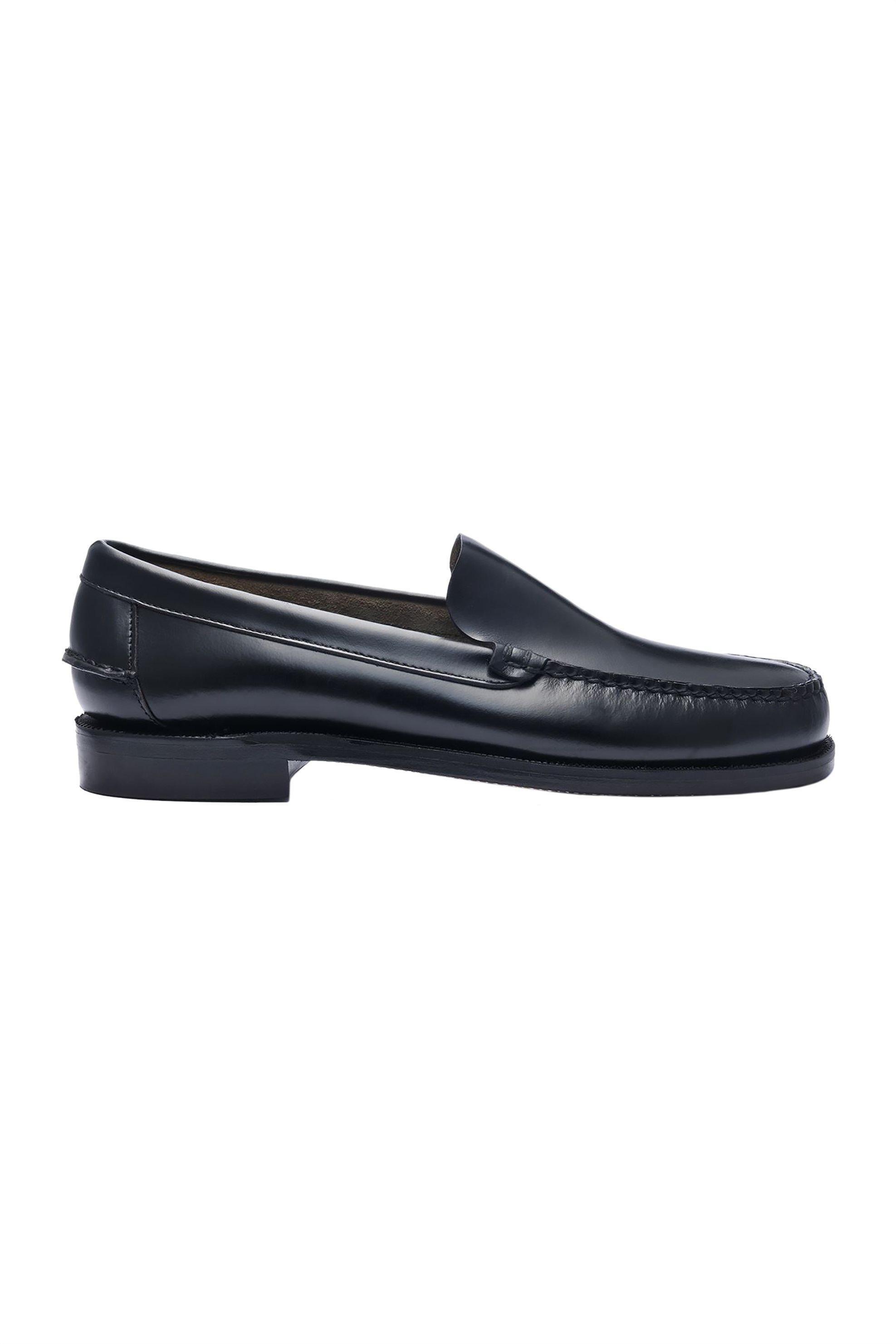 Notos Sebago ανδρικά loafers δερμάτινα Frank – L70015A0-902 – Μαύρο 0ad05b08976