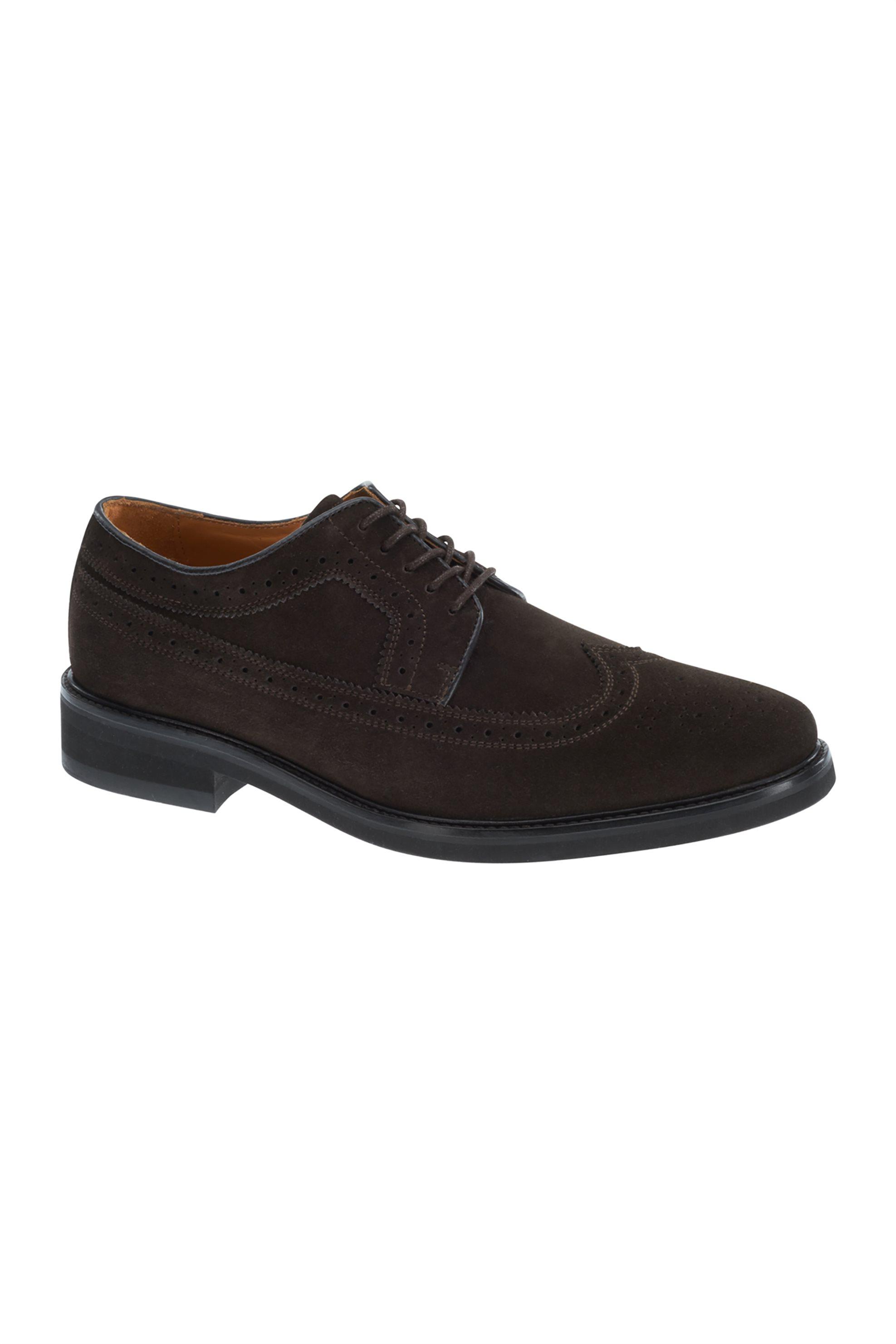 Notos Sebago ανδρικά Oxford παπούτσια Cuenca suede – L70012H0-901 – Καφέ a644bfb1c81