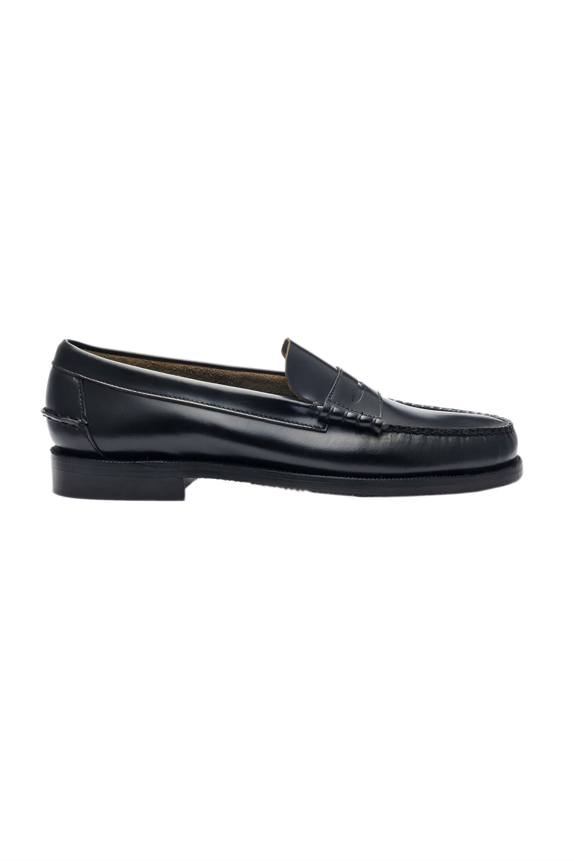 "Sebago® ανδρικά penny loafers δερμάτινα ""Classic Dan "" – L7000300-902W – Μαύρο"