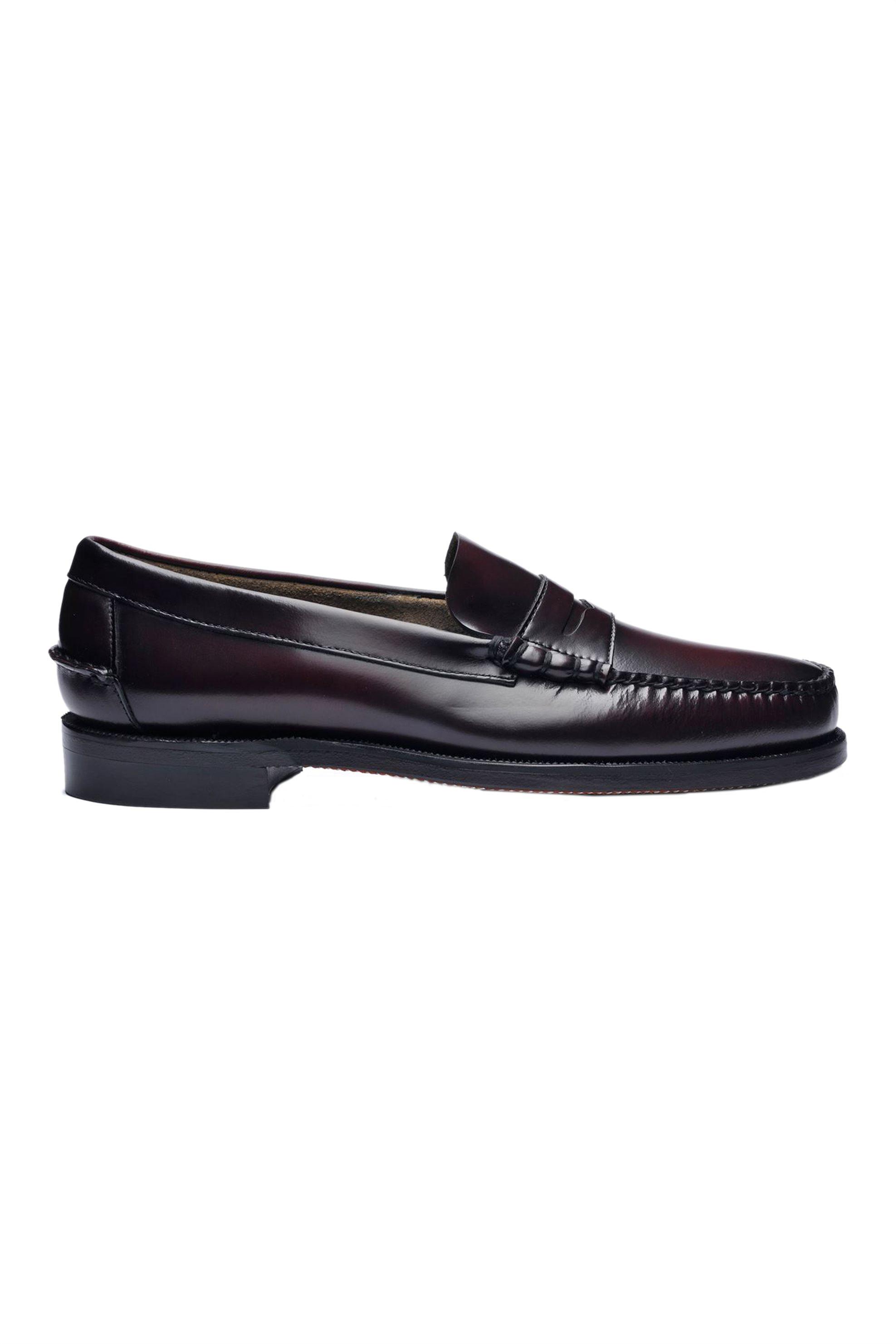 """Sebago® ανδρικά penny loafers """"Classic Dan"""" – L7000300-903W – Μπορντό"""