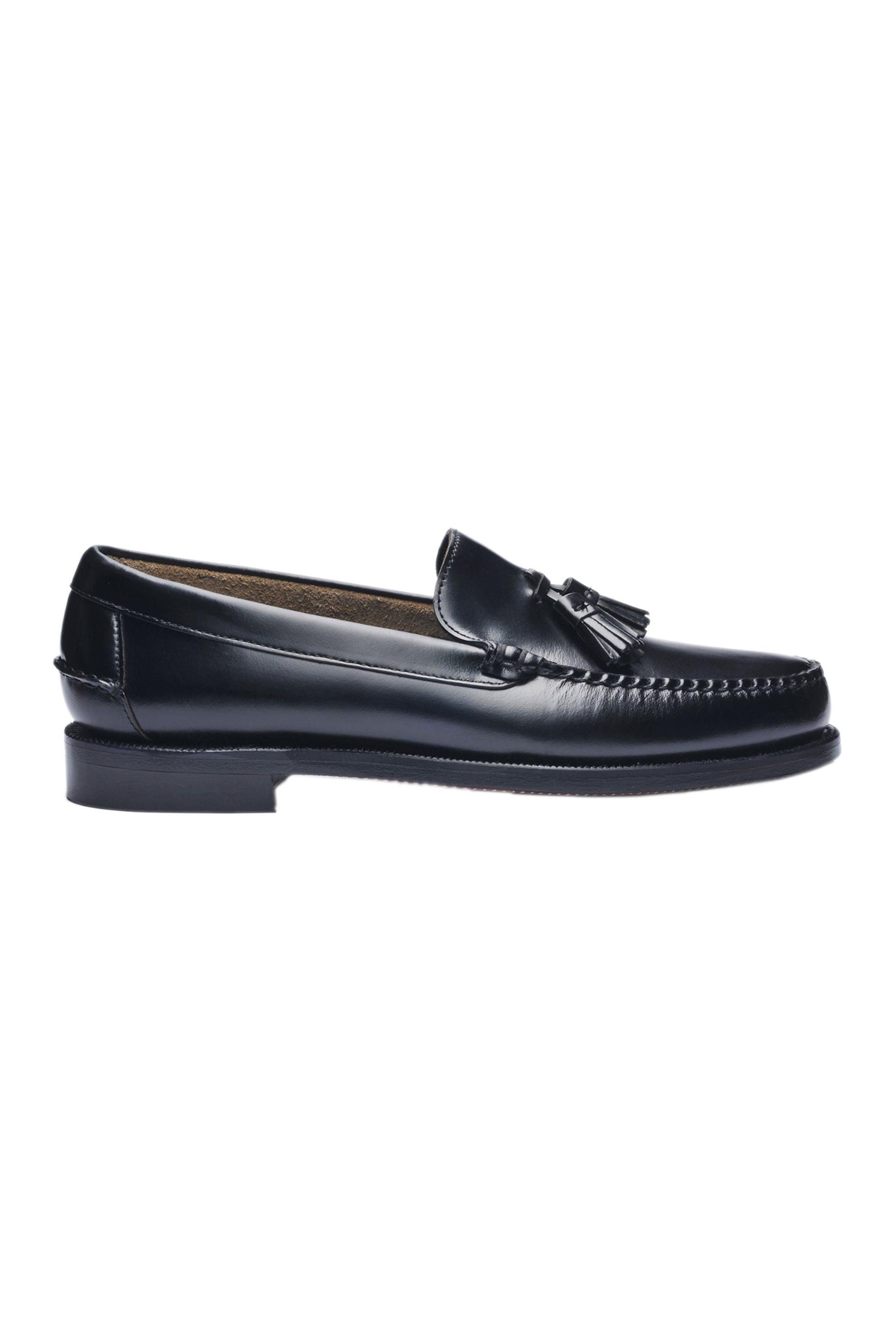 "Sebago® ανδρικά loafers με φουντάκια ""Classic Will"" – L7001R20-902W – Μαύρο"