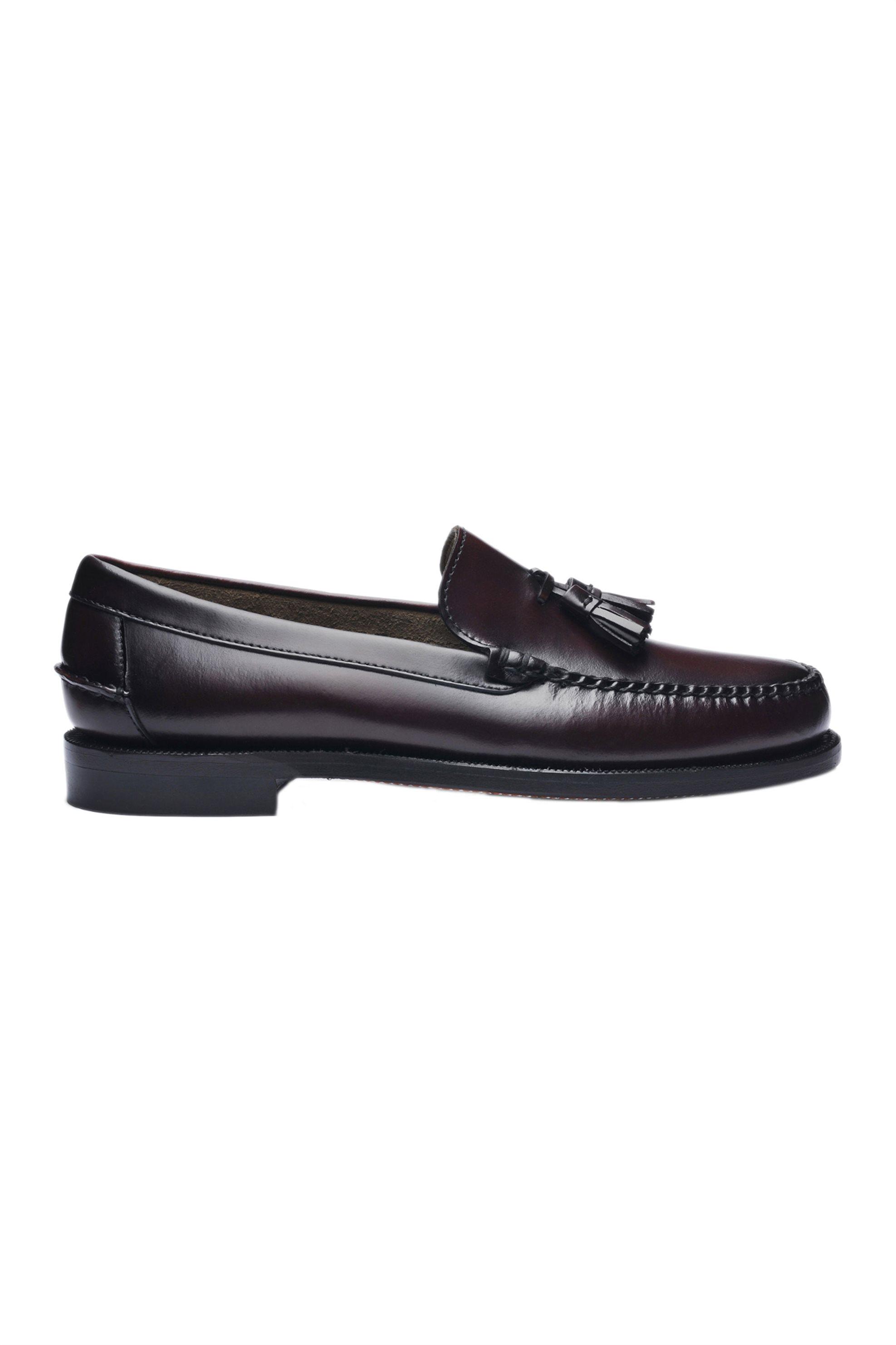 "Sebago® ανδρικά loafers με φουντάκια ""Classic Will"" – L7001R20-903W – Μπορντό"