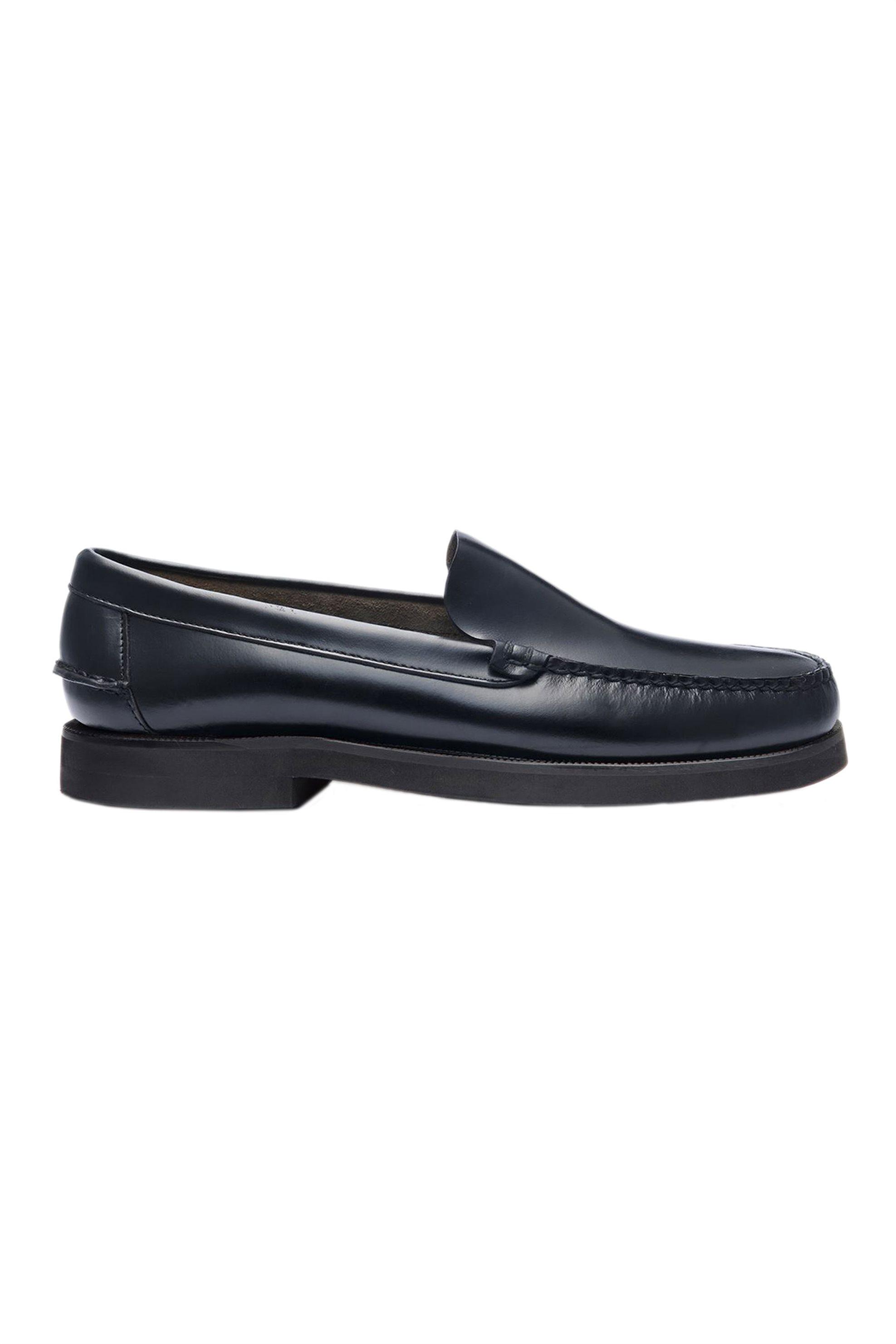 "Sebago® ανδρικά penny loafers δερμάτινα ""Frank Polaris"" – L7001G70-902R – Μαύρο"