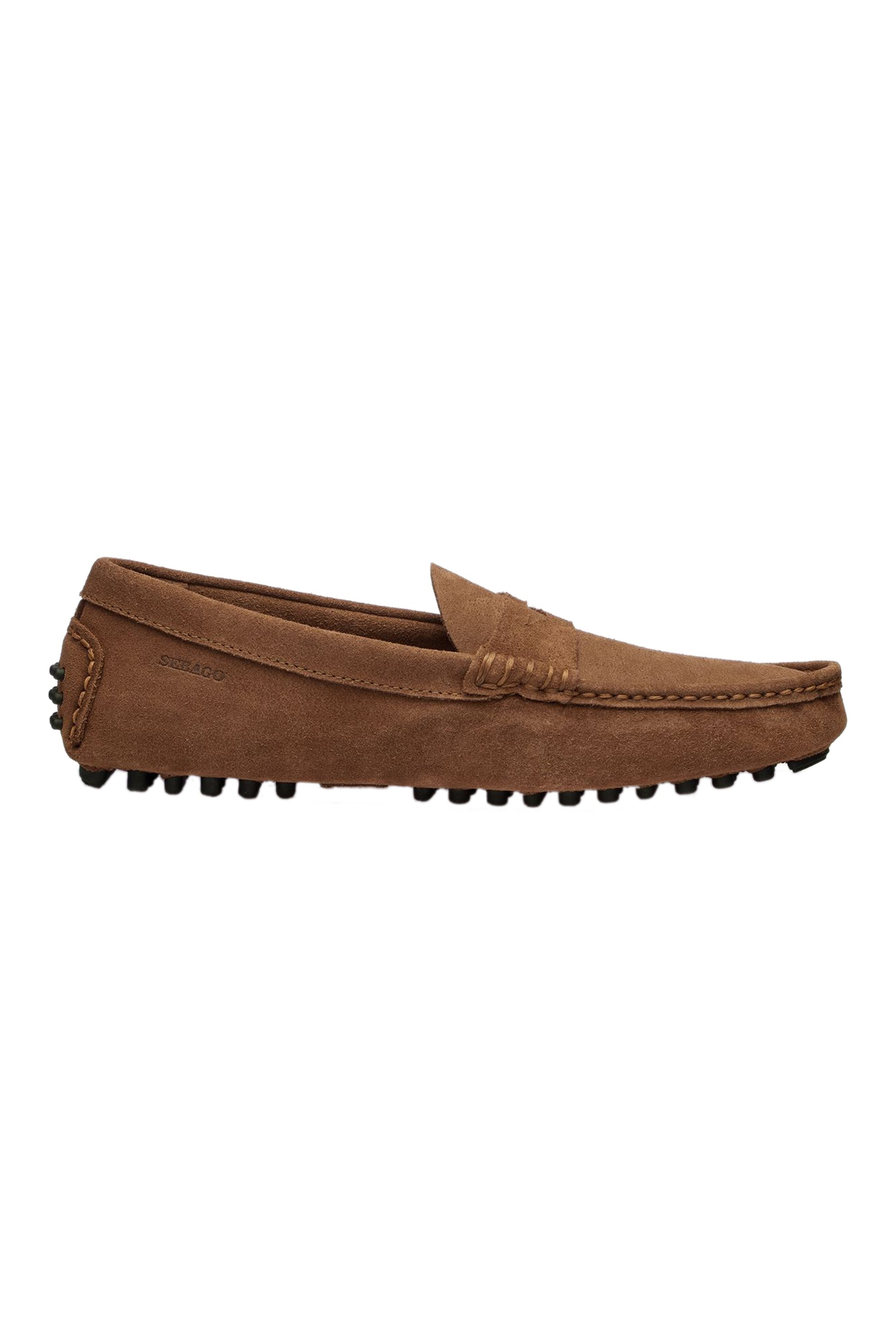 """Sebago® ανδρικά loafers """"Russel Suede"""" – L71113EW-907R – Καφέ"""
