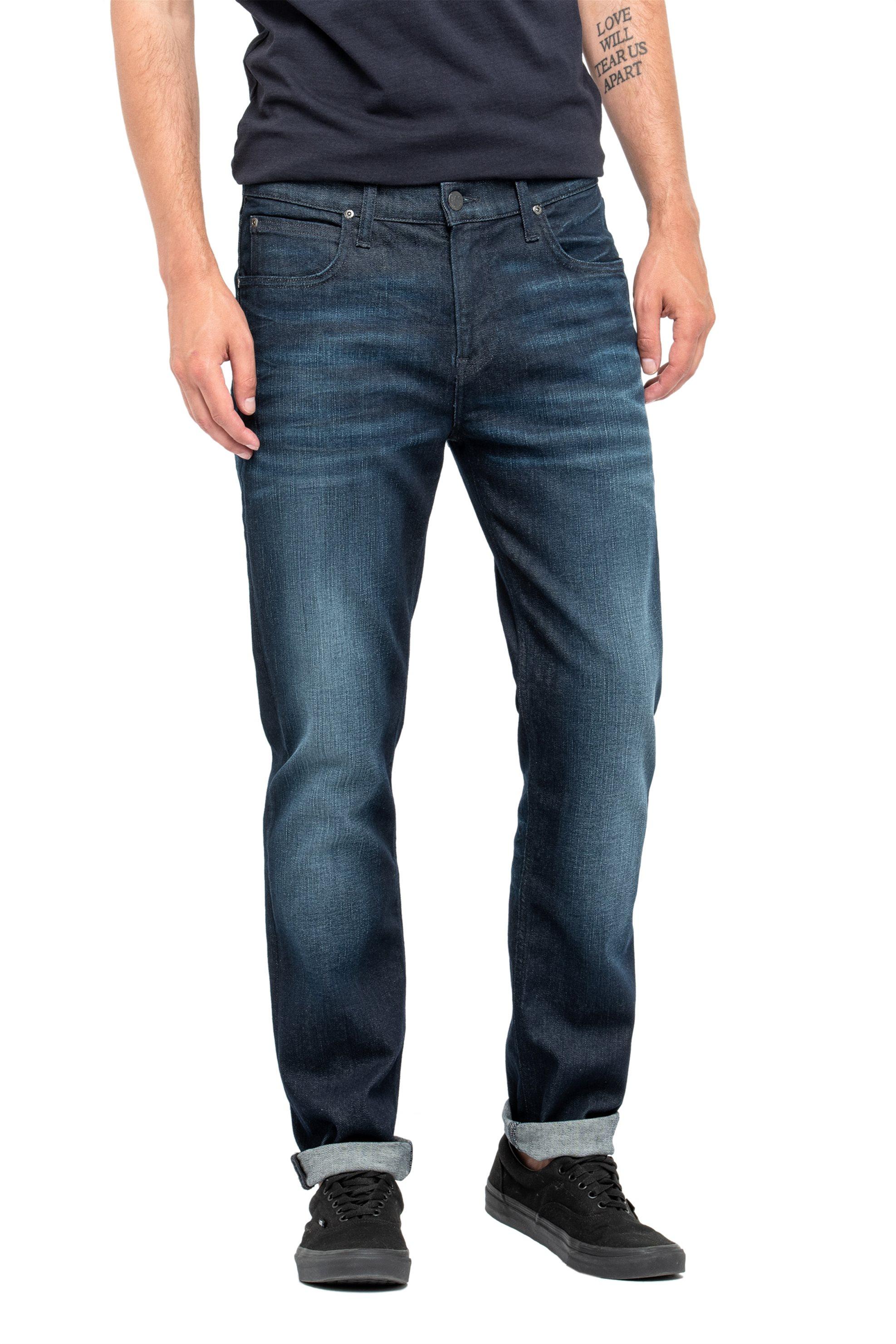 Lee Arvin regular tapered ανδρικό τζην παντελόνι Shrewd Blue - L732KIRQ - Μπλε Σ ανδρασ   ρουχα   jeans   tapered