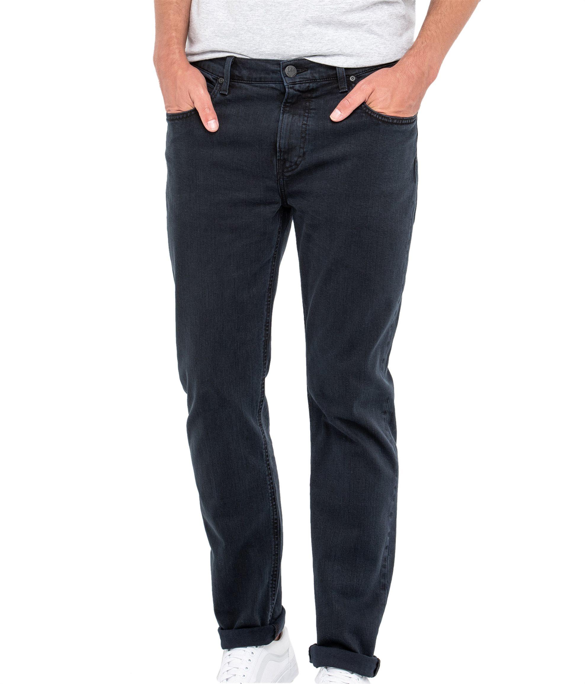 Lee Arvin regular tapered ανδρικό τζην παντελόνι Black Night - L732JBGZ - Μαύρο ανδρασ   ρουχα   jeans   tapered