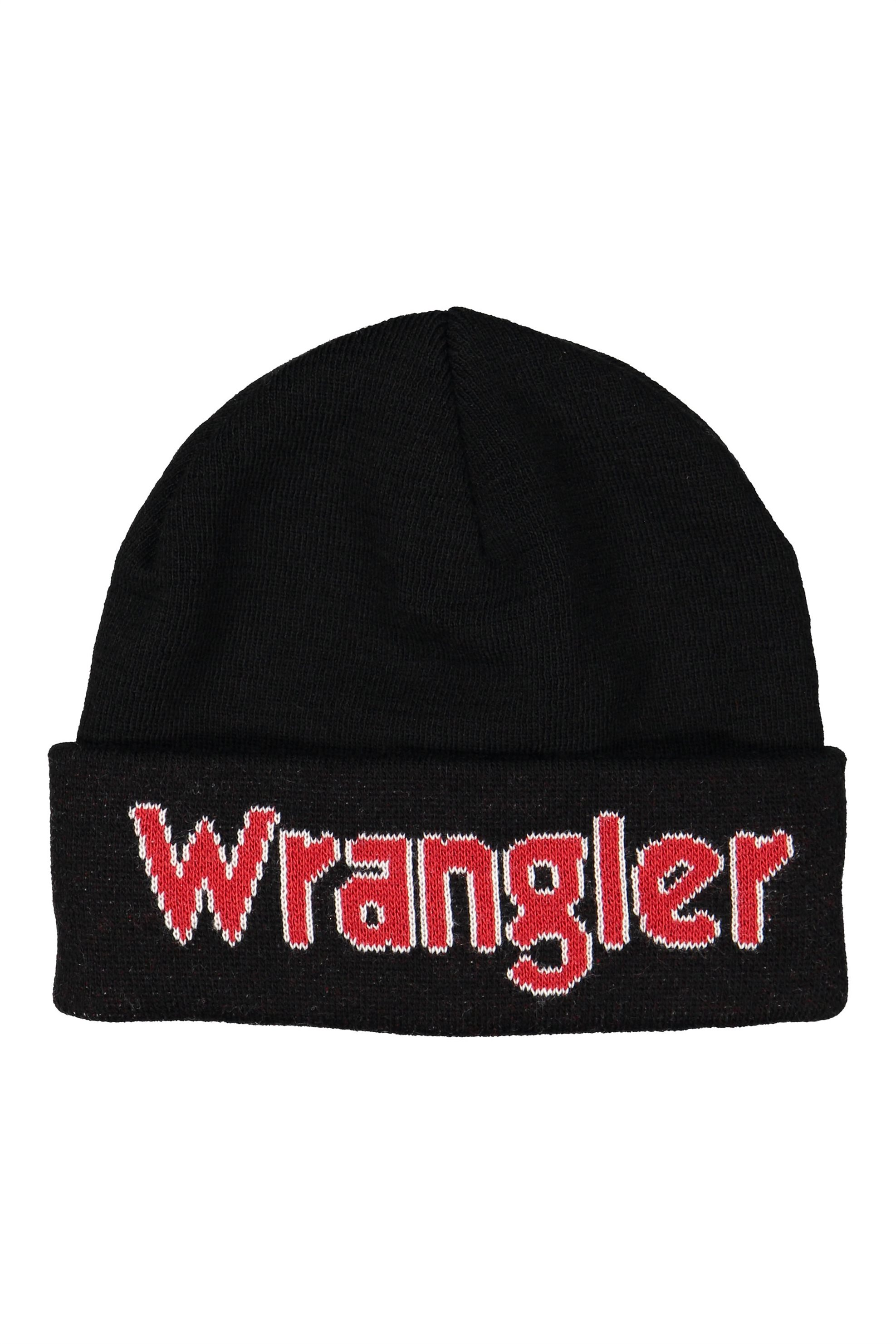 Wrangler ανδρικός σκούφος Kabel Beanieμαύρο - W0M39UH01 - Μαύρο ανδρασ   αξεσουαρ   καπέλα