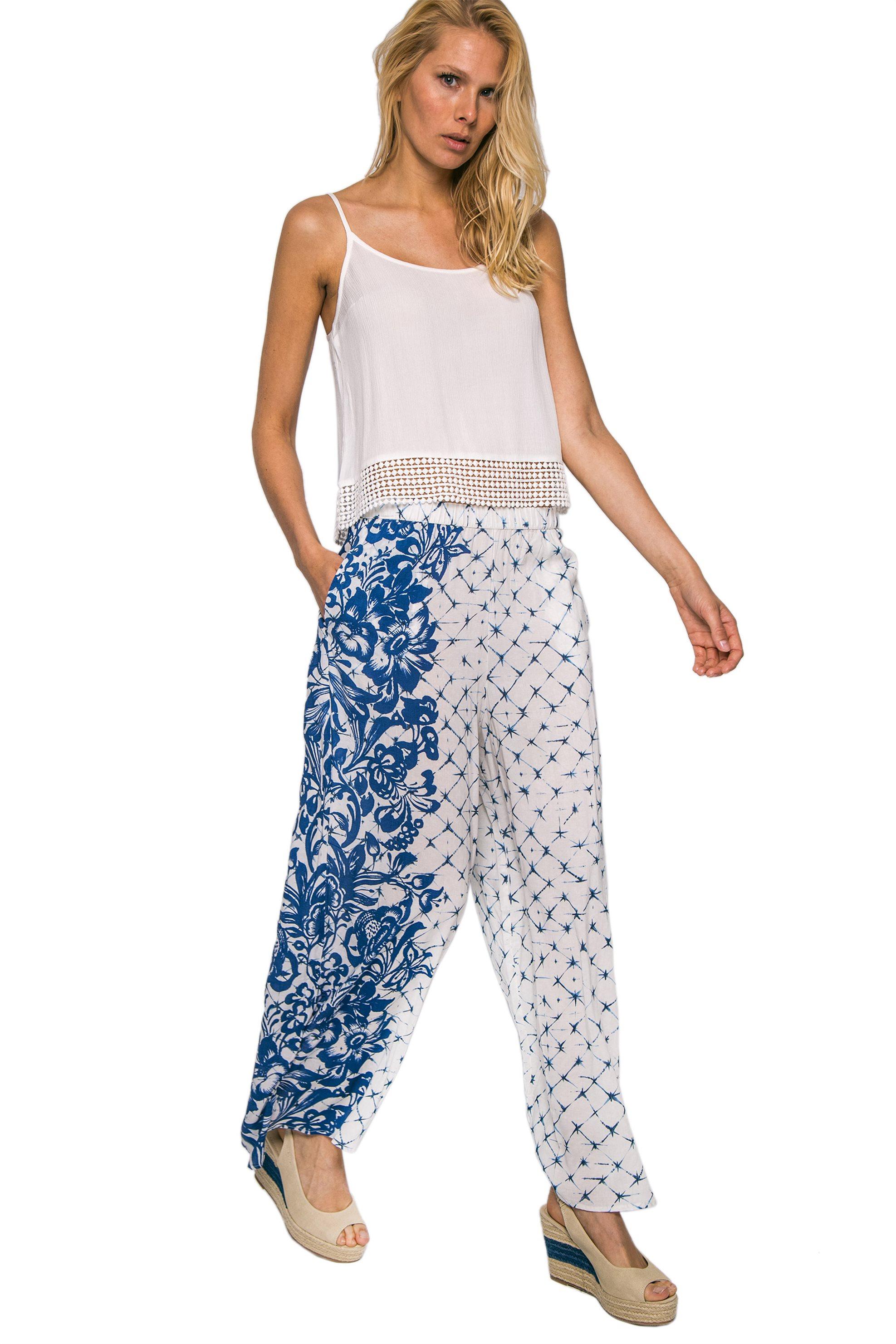 649fa224c099 Γυναικεία   Ρούχα   Παντελόνια   Casual   Παντελόνες   Floral ...