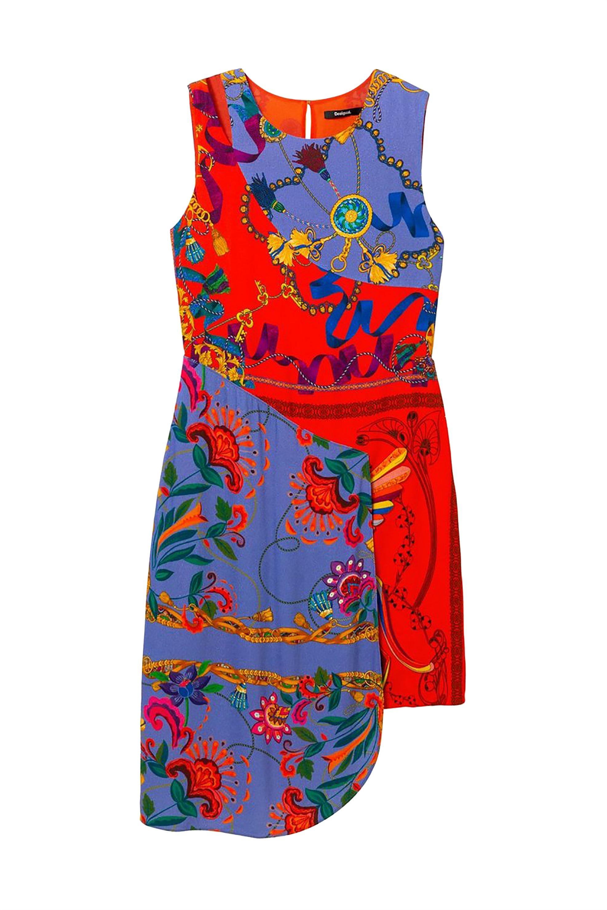 856ccab889f4 Notos Desigual γυναικείo ασύμμετρο φόρεμα Τiwa - 19SWVWBL - Κόκκινο