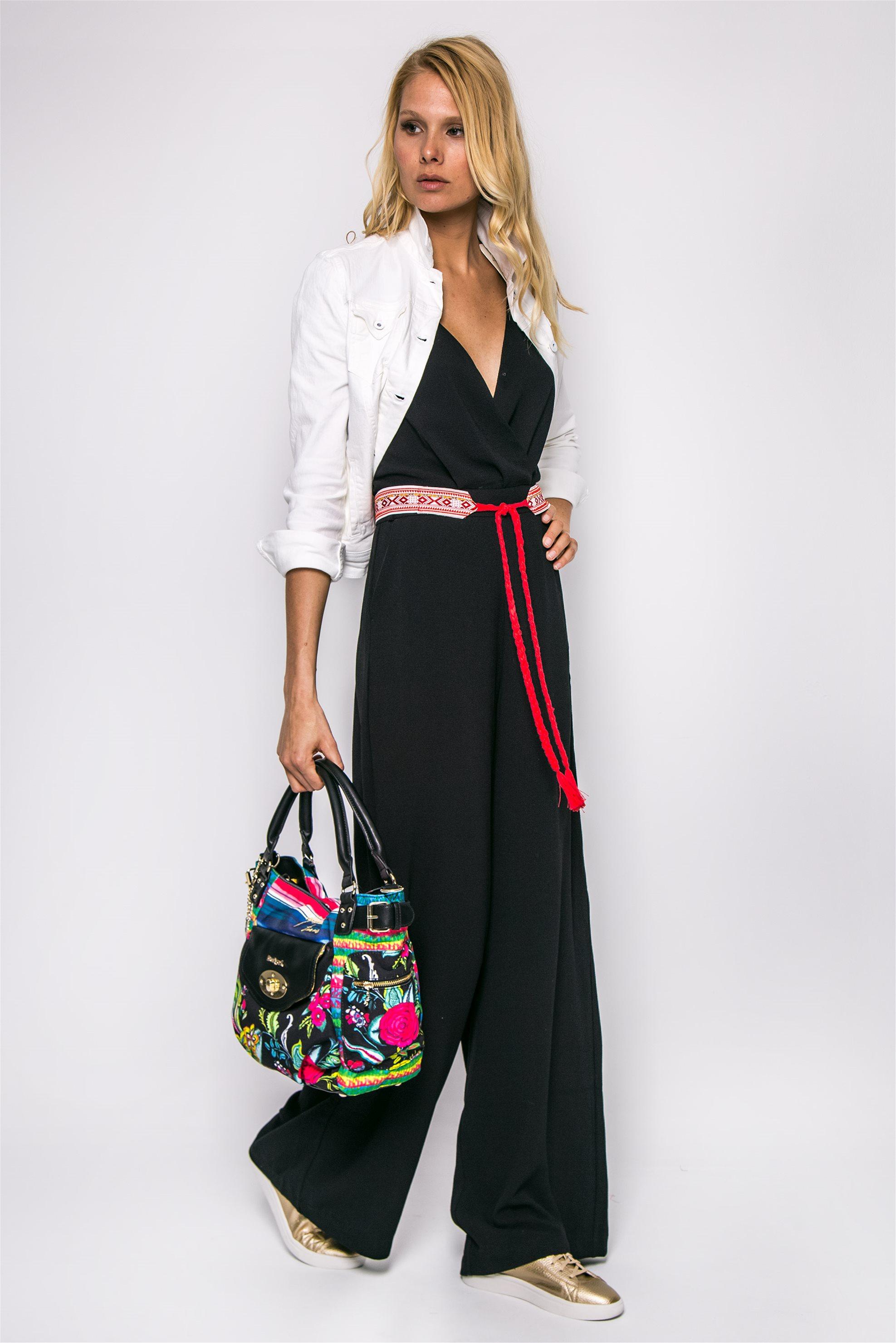 Γυναικεία ολόσωμη φόρμα Pepe Jeans - PL2301680000 - Μαύρο γυναικα   ρουχα   ολόσωμες φόρμες   σαλοπέτες