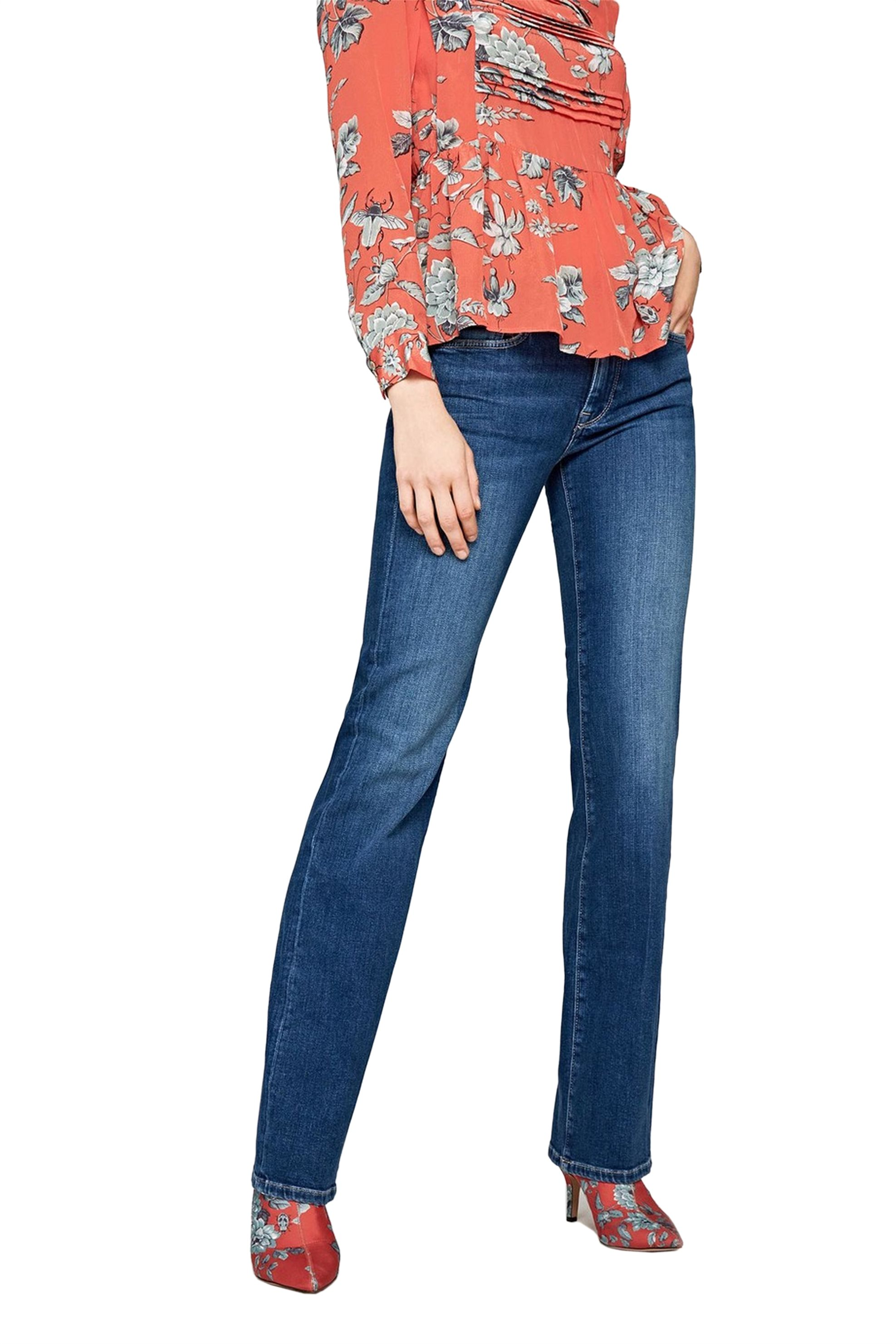 Pepe Jeans γυναικείο τζην παντελόνι flare Αubrey L32 - PL202229GN32 - Μπλε γυναικα   ρουχα   jeans   καμπάνα   bootcut
