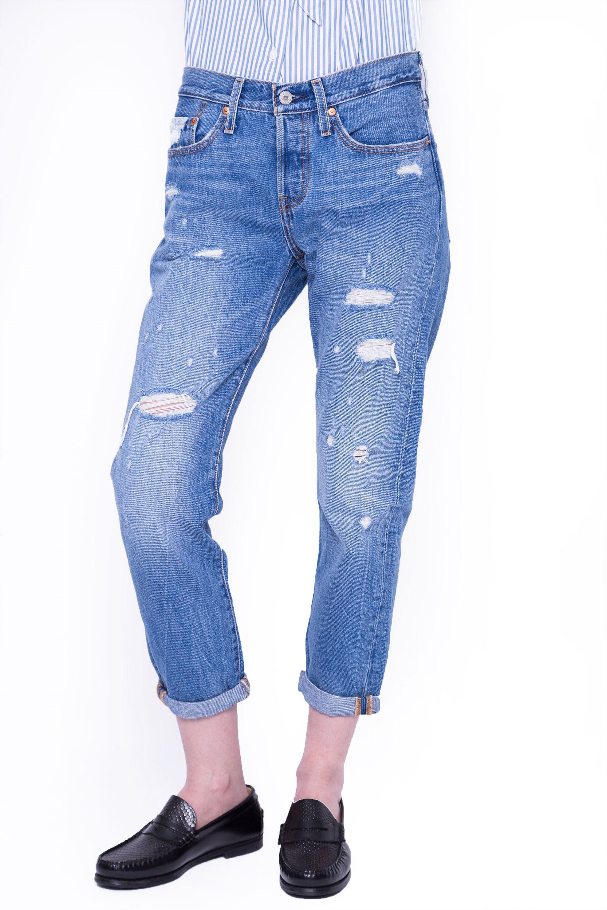 a0395a947a9 Γυναικείο παντελόνι Levi's - 3619700-09-28 - Μπλε