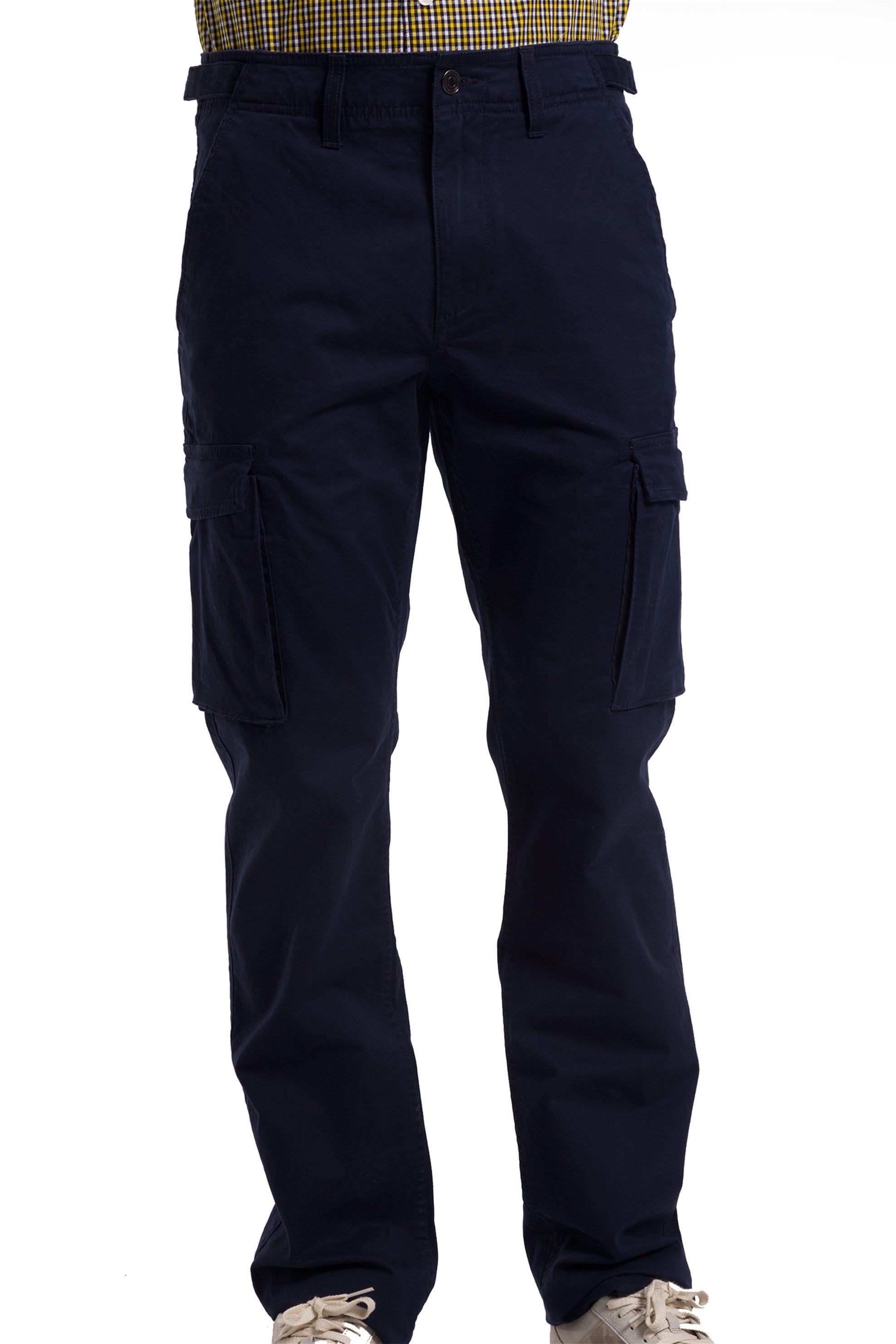 Ανδρικό cargo παντελόνι Timberland - CA1L37433 - Μπλε Σκούρο ανδρασ   ρουχα   παντελόνια   cargo