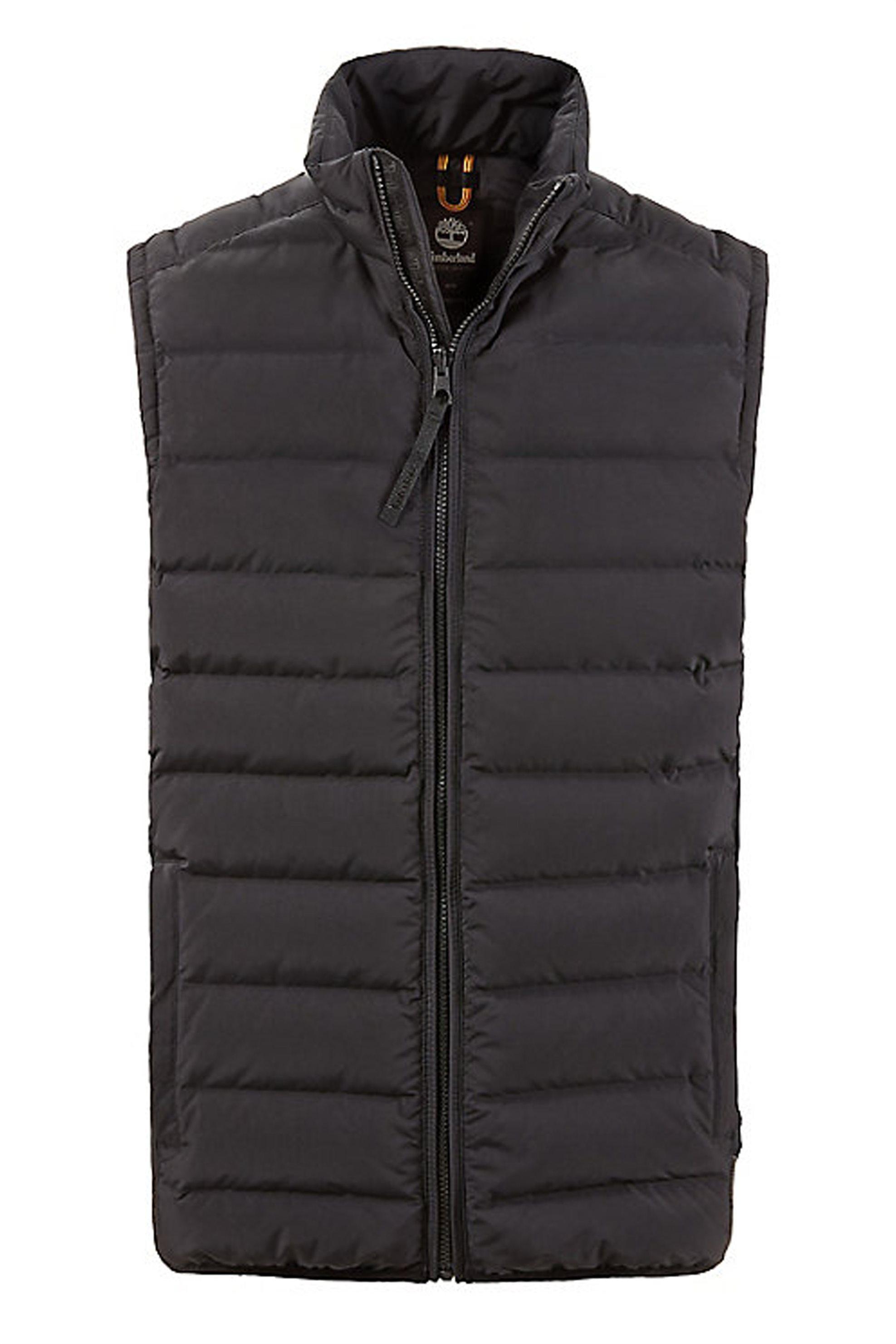Timberland ανδρικό αμάνικο καπιτονέ μπουφάν Bear Head - TB0A1N210011 - Μαύρο ανδρασ   ρουχα   παλτό   μπουφάν   αμάνικα