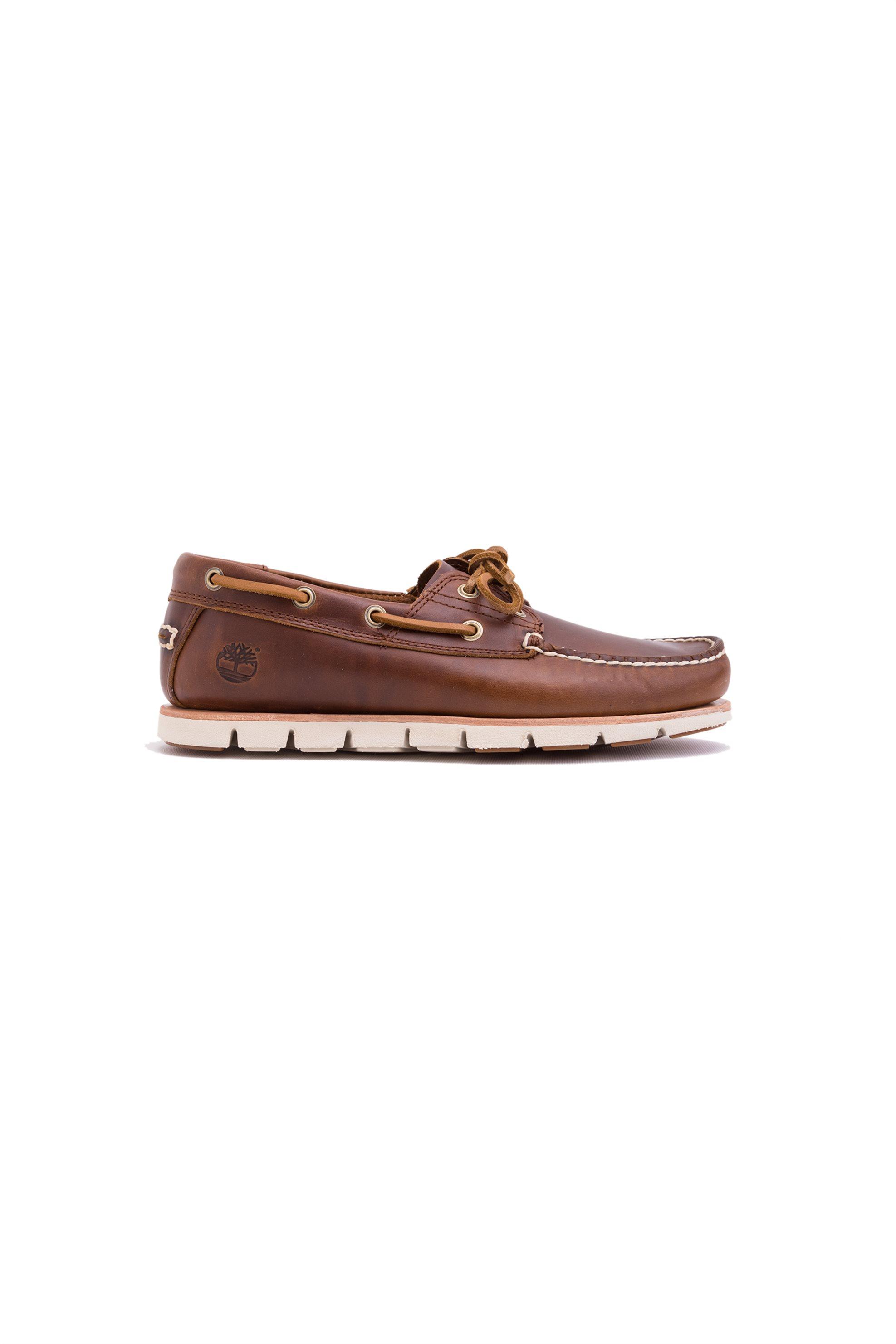 Ανδρικά καφέ παπούτσια boats Tidelands 2 Eye Timberland - CA1BHL - Καφέ ανδρασ   παπουτσια   trainers   sneakers