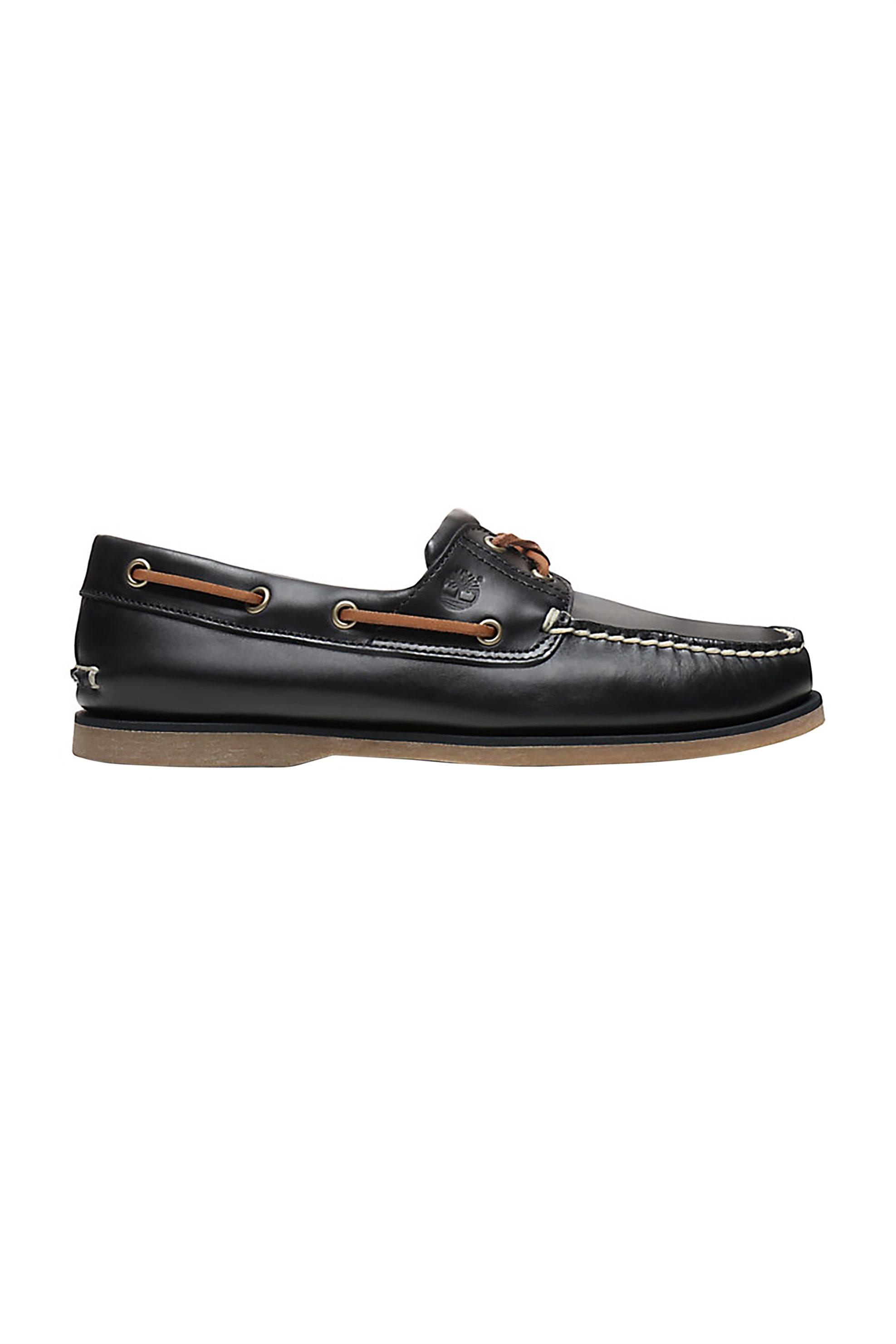 3695cc4392b Notos Timberland ανδρικά boat shoes Classic 2-Eye – TB0A232M4031 – Μπλε  Σκούρο