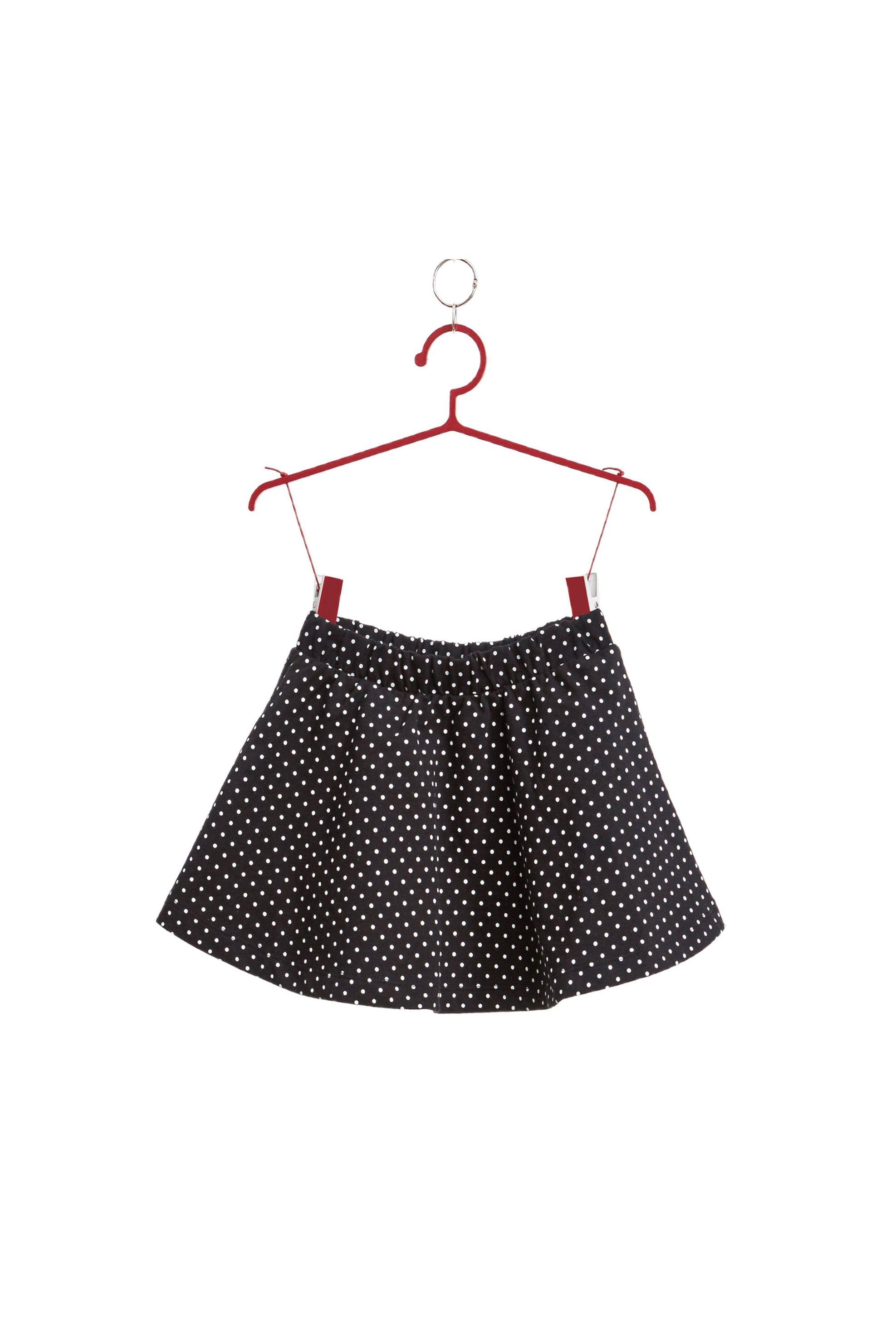 Παιδική φούστα πουά OVS - 000167100 - Μαύρο παιδι   βρεφικα κοριτσι   0 3 ετων   κοριτσι   4 14 ετων   φούστες   ρούχα   φορ