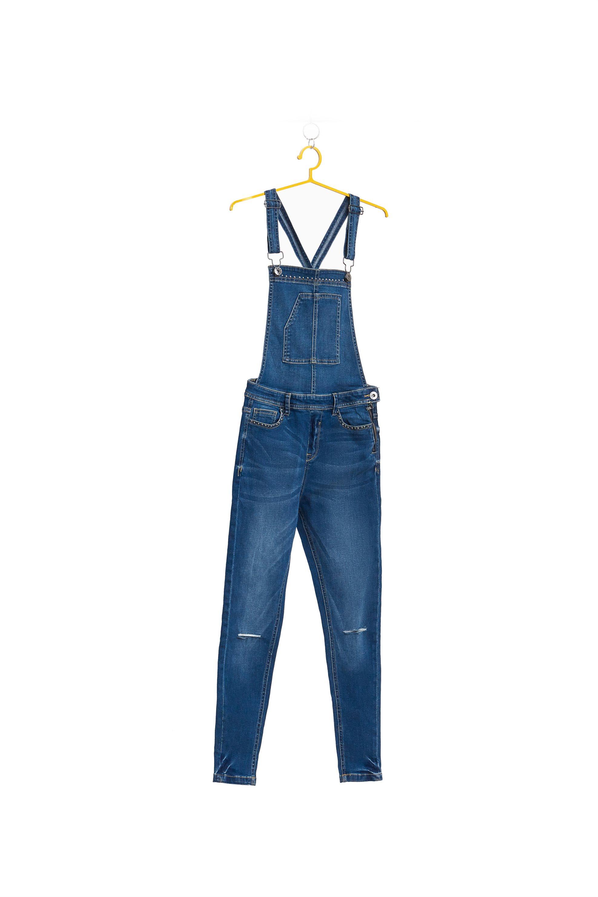 Παιδική σαλοπέτα μακριά OVS - 000154431 - Μπλε Σκούρο παιδι   κοριτσι   4 14 ετων   tops   παντελόνια   σαλοπέτες   παντελόνια   jeans