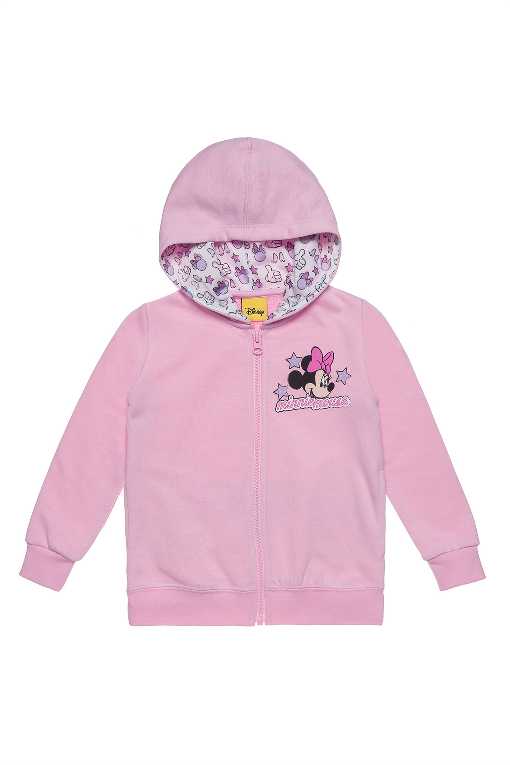 Notos Alouette παιδική ζακέτα με all over μοτίβο στην κουκούλα Disney  Minnie Mouse (12 μηνών- 61489c3a645