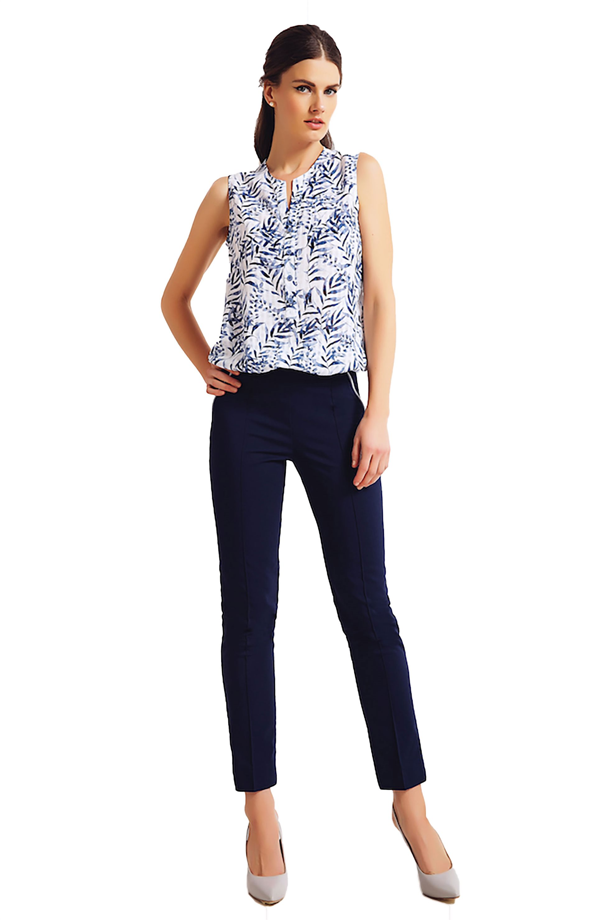 723af98e364e Γυναικεία   Ρούχα   Παντελόνια   Casual   All Day   Λινή παντελόνα ...