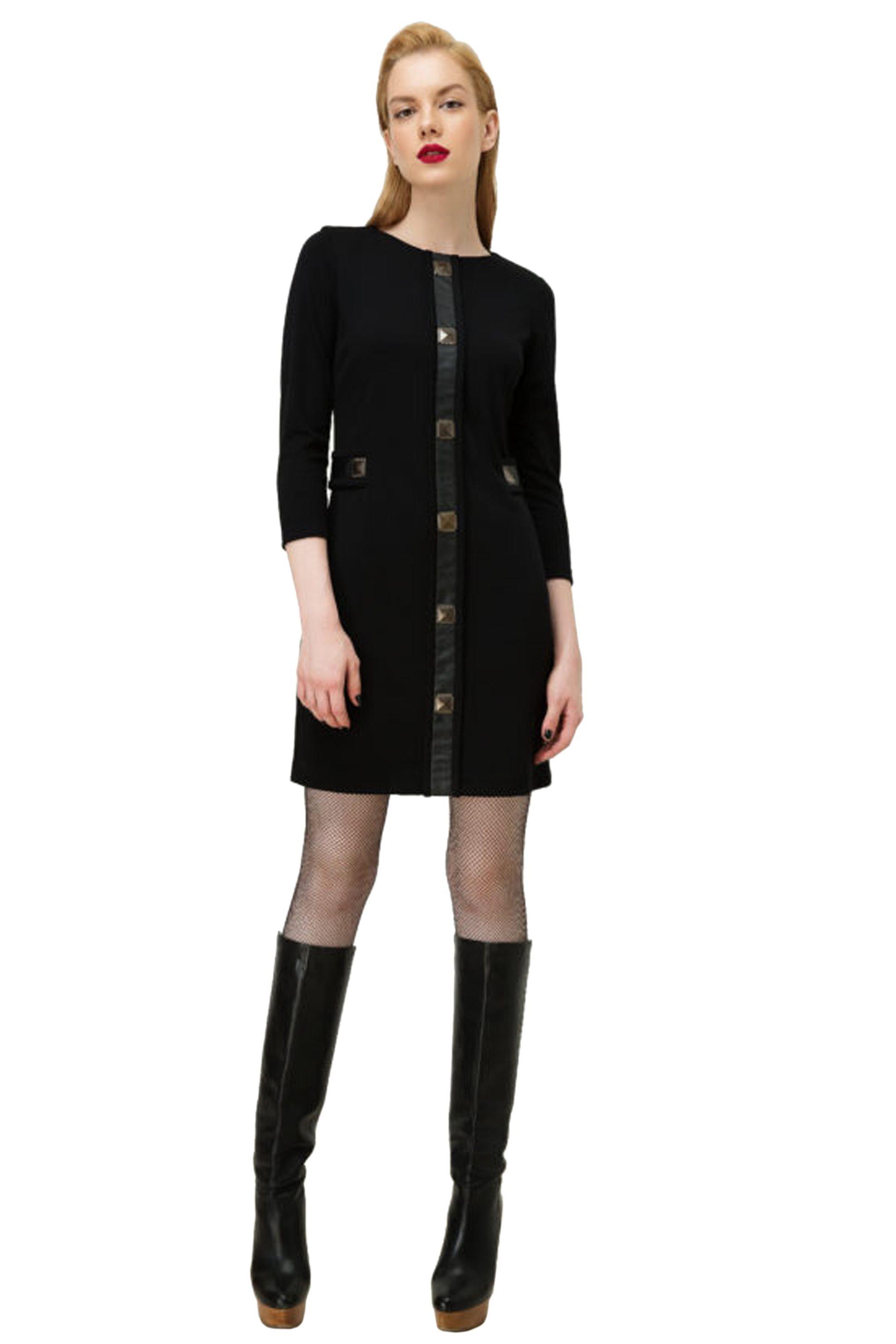 Billy Sabbado γυναικείο μίνι φόρεμα με μεταλλικές λεπτομέρειες - 0139984730 - Μα γυναικα   ρουχα   φορέματα   mini φορέματα
