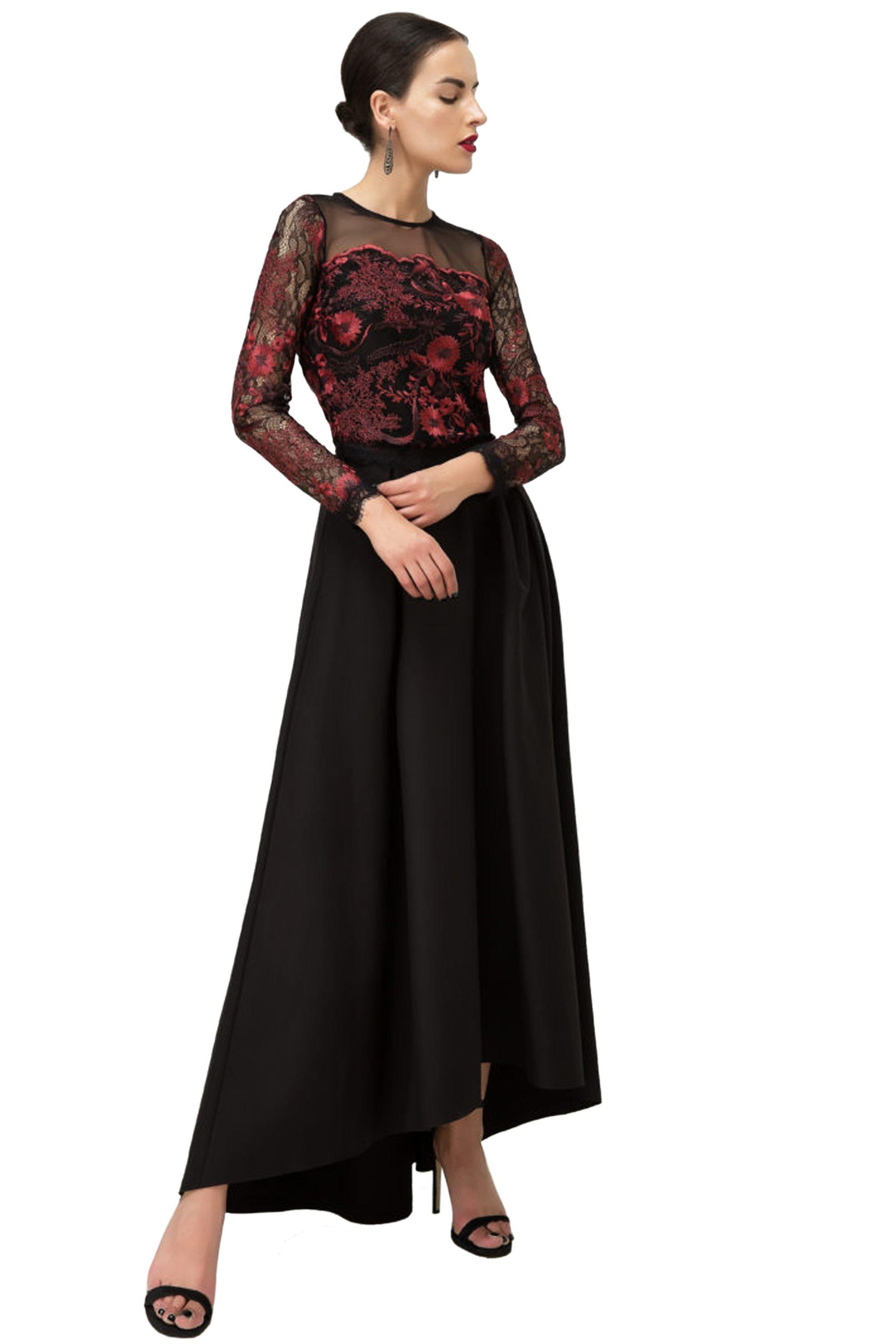 Billy Sabbado γυναικεία μπλούζα από δαντέλα με διαφάνεια - 0100284543 - Μαύρο γυναικα   ρουχα   tops   μπλούζες   βραδυνές