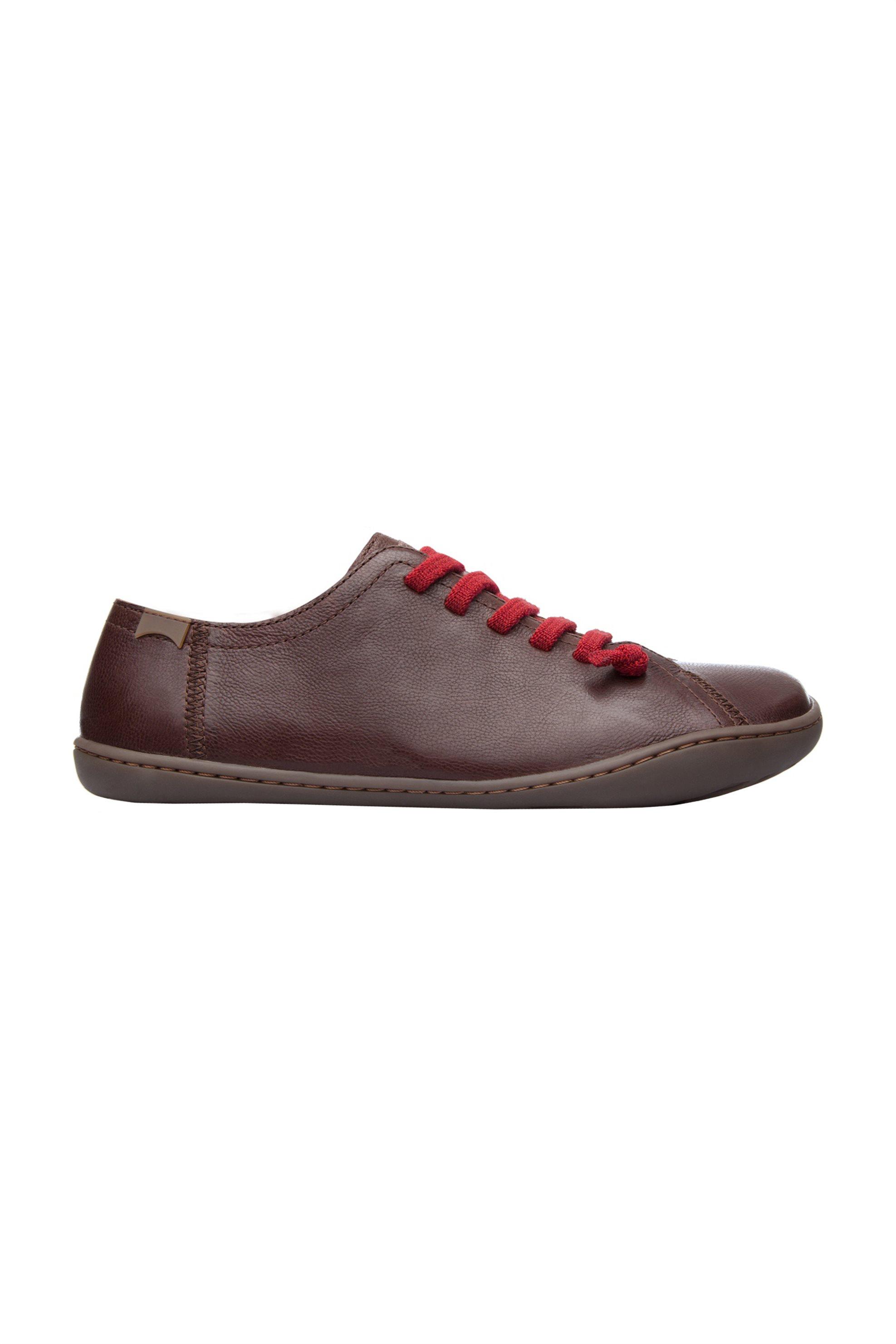 Notos Camper γυναικεία παπούτσια δερμάτινα καφέ Peu – 20848-020 – Καφέ f0a7713e36b