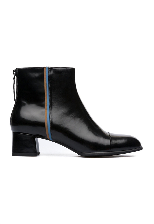 Camper γυναικεία μποτάκια μαύρα με τακούνι Twins - K400341-001 - Μαύρο γυναικα   παπουτσια   μποτάκια
