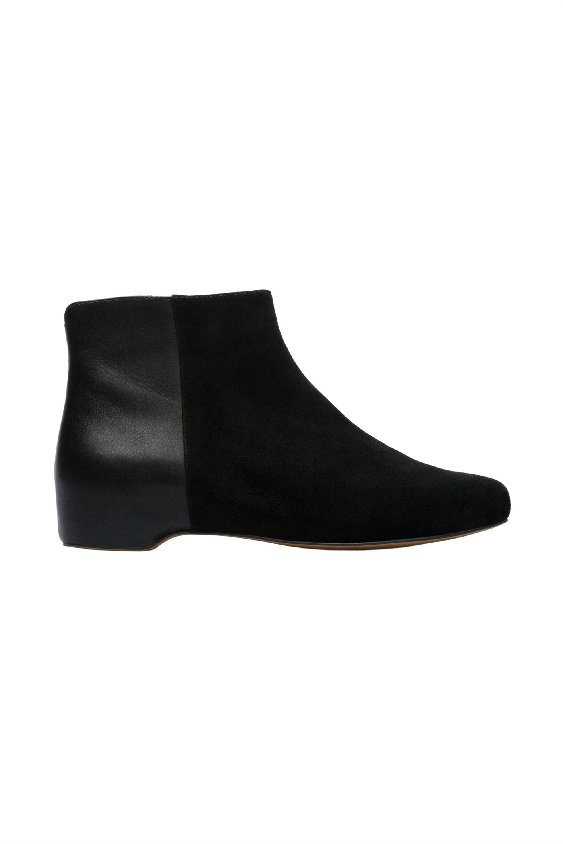 online retailer fbed6 e9229 Notos Camper γυναικεία δερμάτινα μποτάκια Serena suede – K400314-003 – Μαύρο