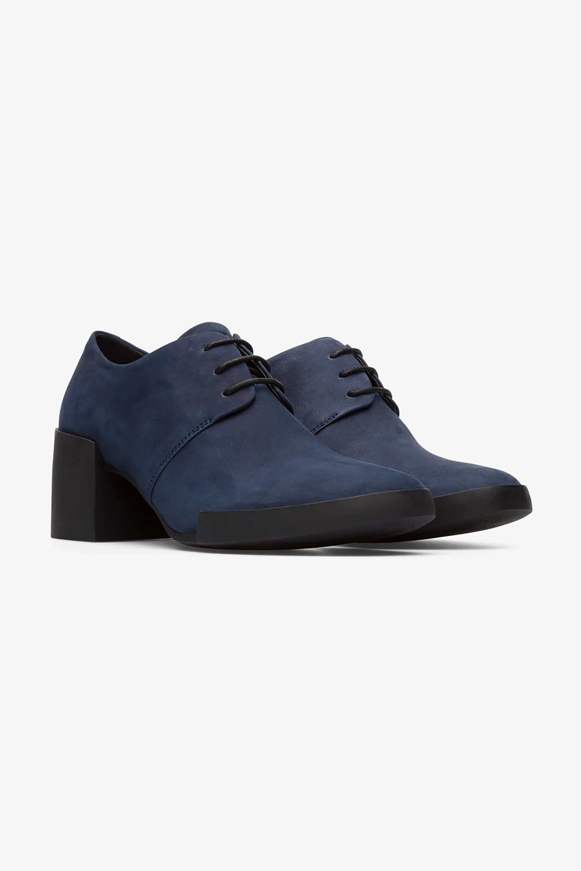 "Camper γυναικεία Oxford με τακούνι ""Lotta"" – K200917-003 – Μπλε Σκούρο"