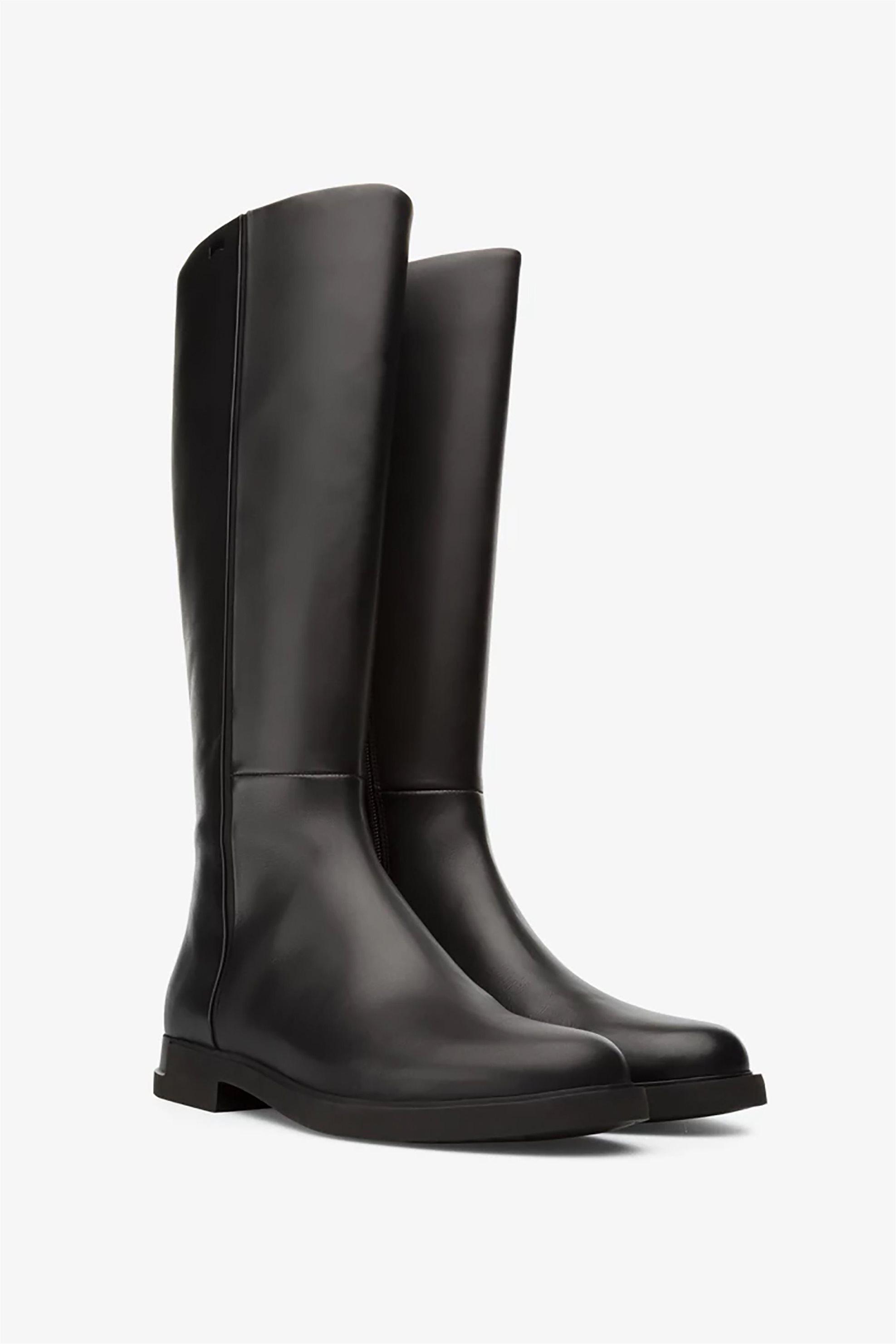 Camper γυναικείες δερμάτινες μπότες ως το γόνατο «Iman» – K400302-004 – Μαύρο