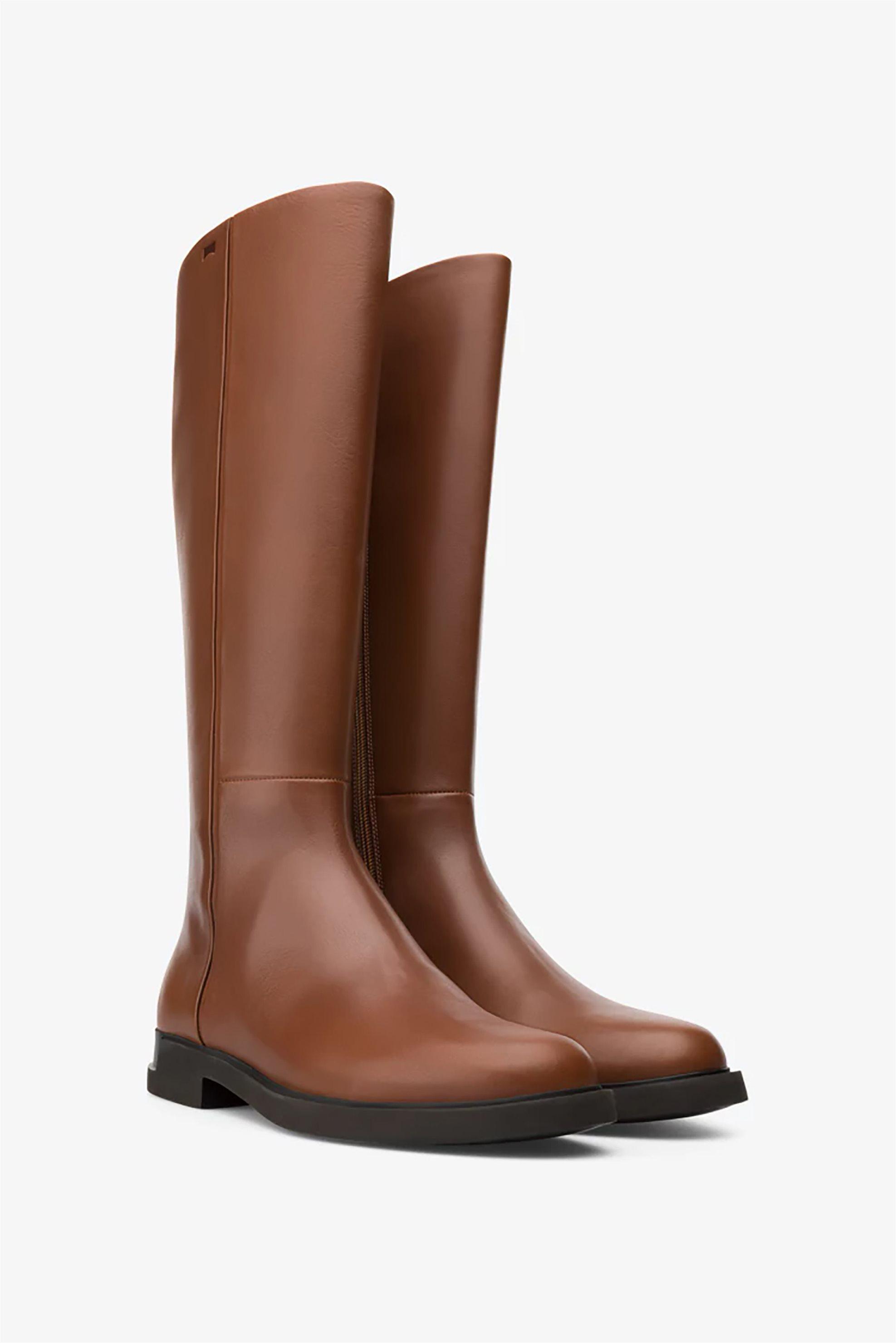 Camper γυναικείες δερμάτινες μπότες ως το γόνατο «Iman» – K400302-006 – Ταμπά