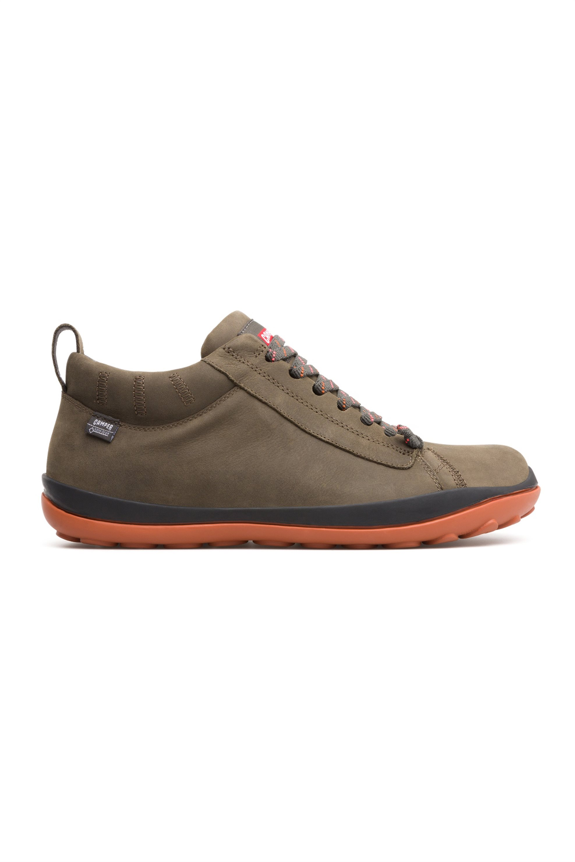 Camper ανδρικά παπούτσια σουέτ λαδί Gore-Tex® Peu Pista - 36544-067 - Λαδί ανδρασ   παπουτσια   trainers   sneakers