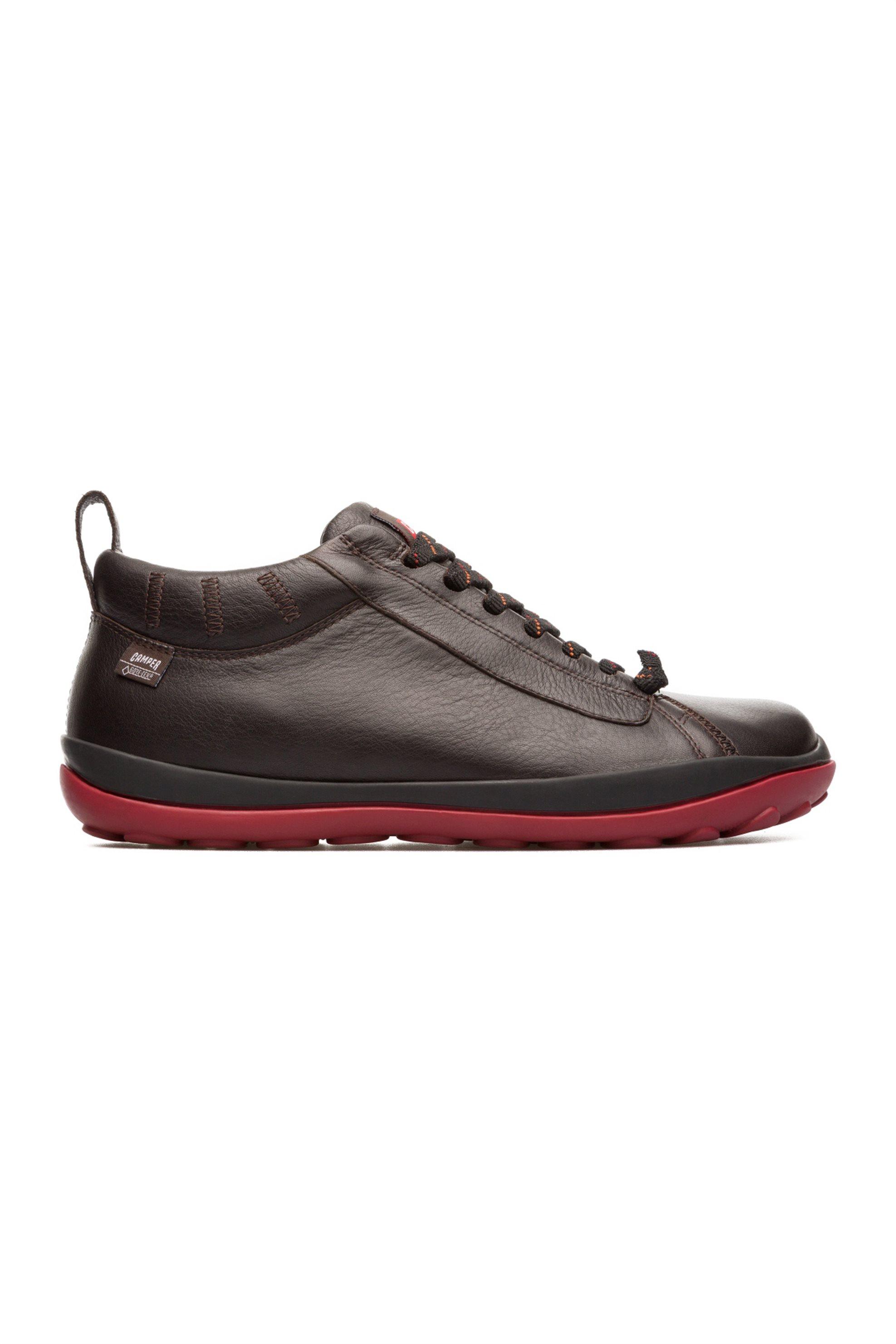 Camper ανδρικά παπούτσια δερμάτινα καφέ σκούρα Gore-Tex® Peu Pista - 36544-069 - ανδρασ   παπουτσια   trainers   sneakers