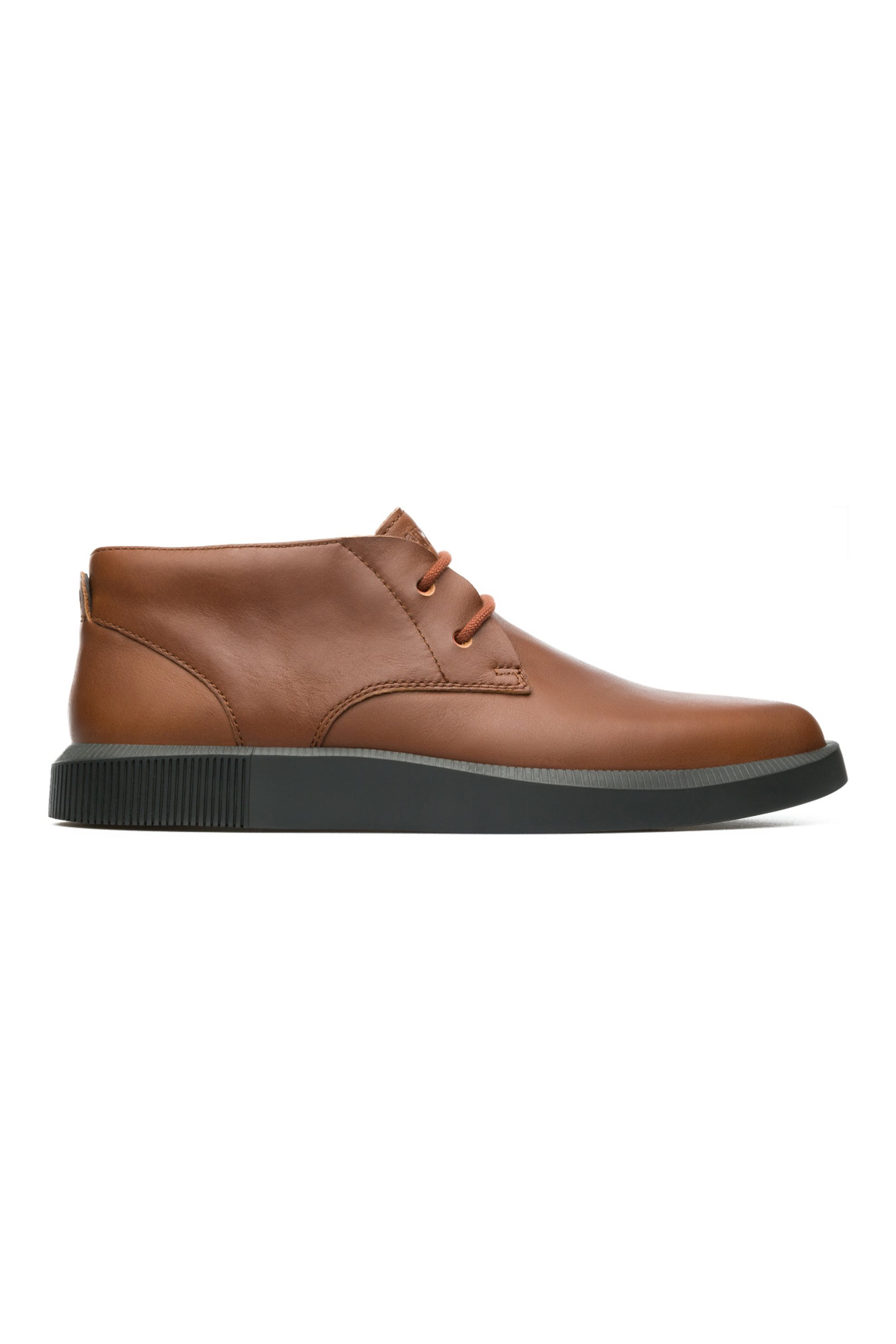 Notos Camper ανδρικά παπούτσια ταμπά με κορδόνια δερμάτινα Bill –  K300235-003 – Ταμπά 82f82eed624