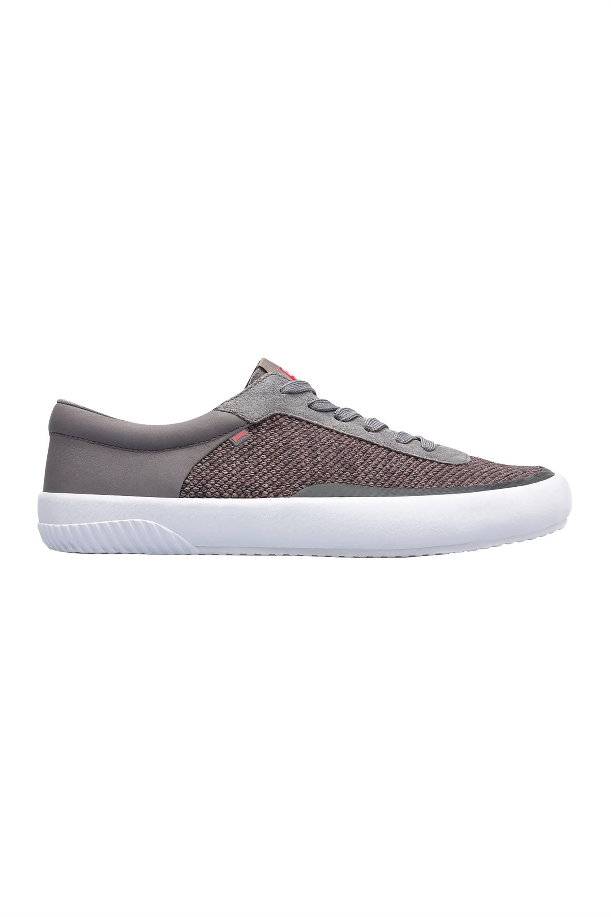 645a8481a40 Notos Camper ανδρικά υφασμάτινα παπούτσια Peu Rambla – K100413-005 – Γκρι