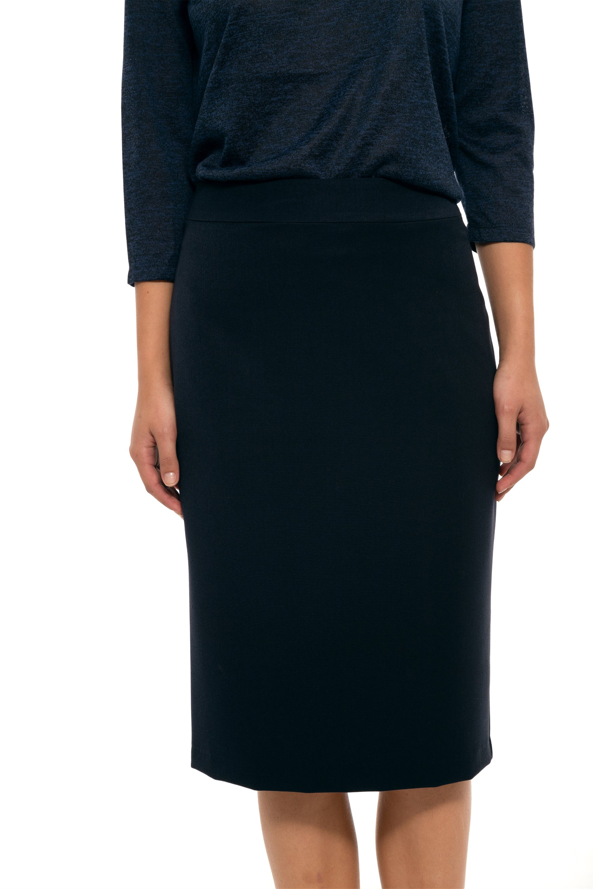 Paul Christophe γυναικεία κρεπ φούστα pencil με κανονική μέση - 833109 - Μπλε Σκ γυναικα   ρουχα   φούστες   pencil