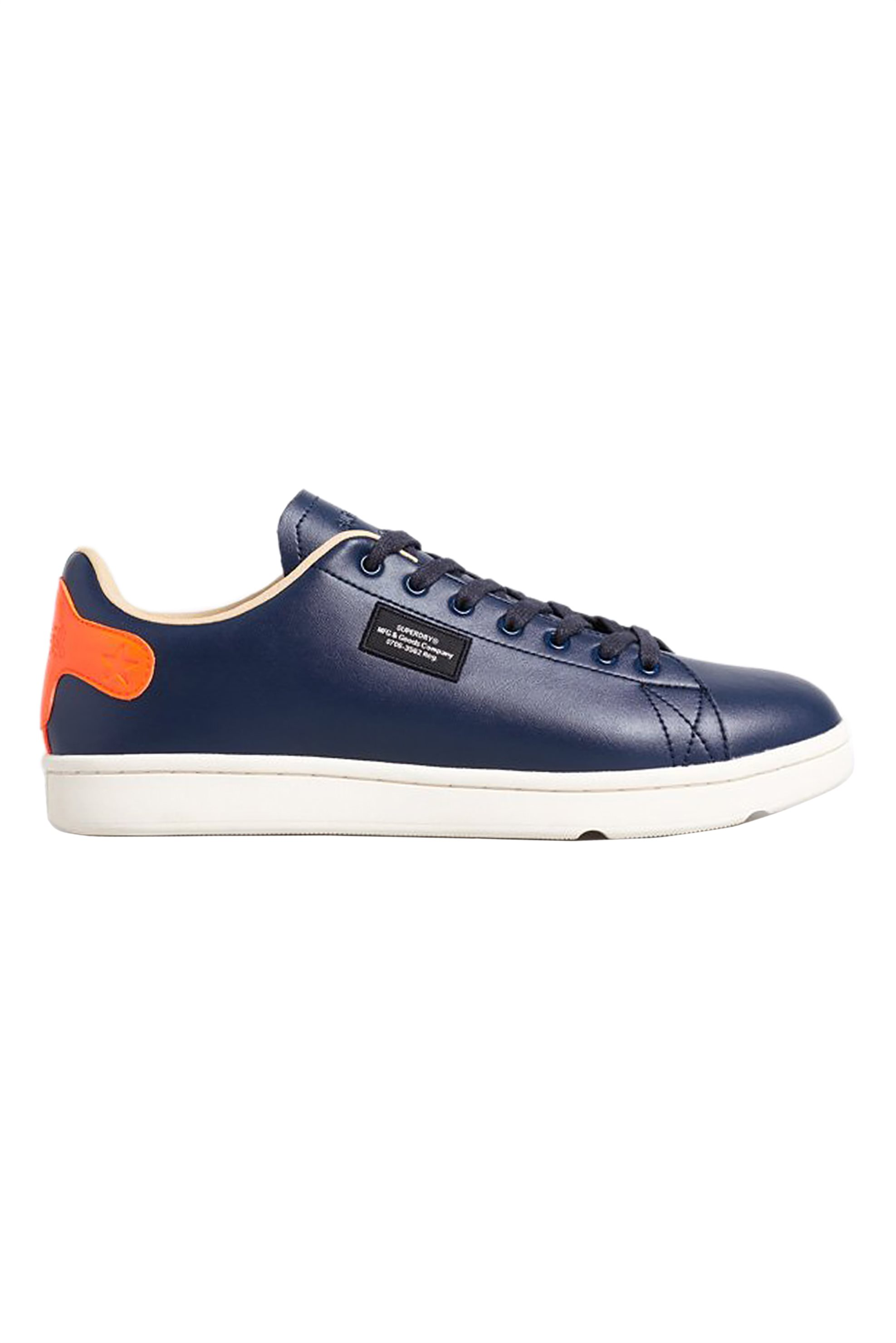 """Superdry ανδρικά sneakers """"Vintage Tennis Trainers"""" – MF110047A – Μπλε Σκούρο"""