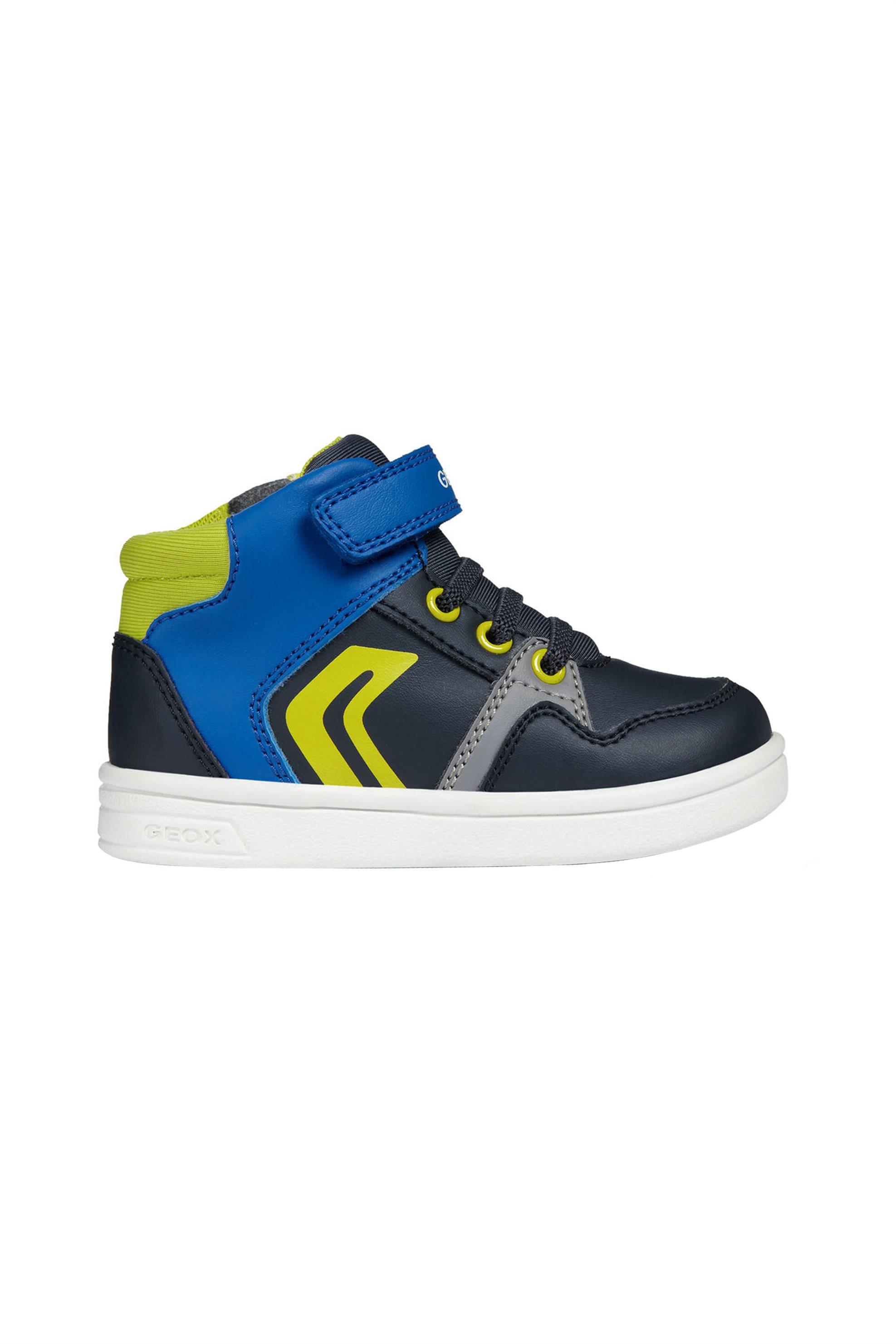 81fb76abc27 ... Geox παιδικα sneakers μποτάκια Baby Djrock Boy – B842CA – Μπλε