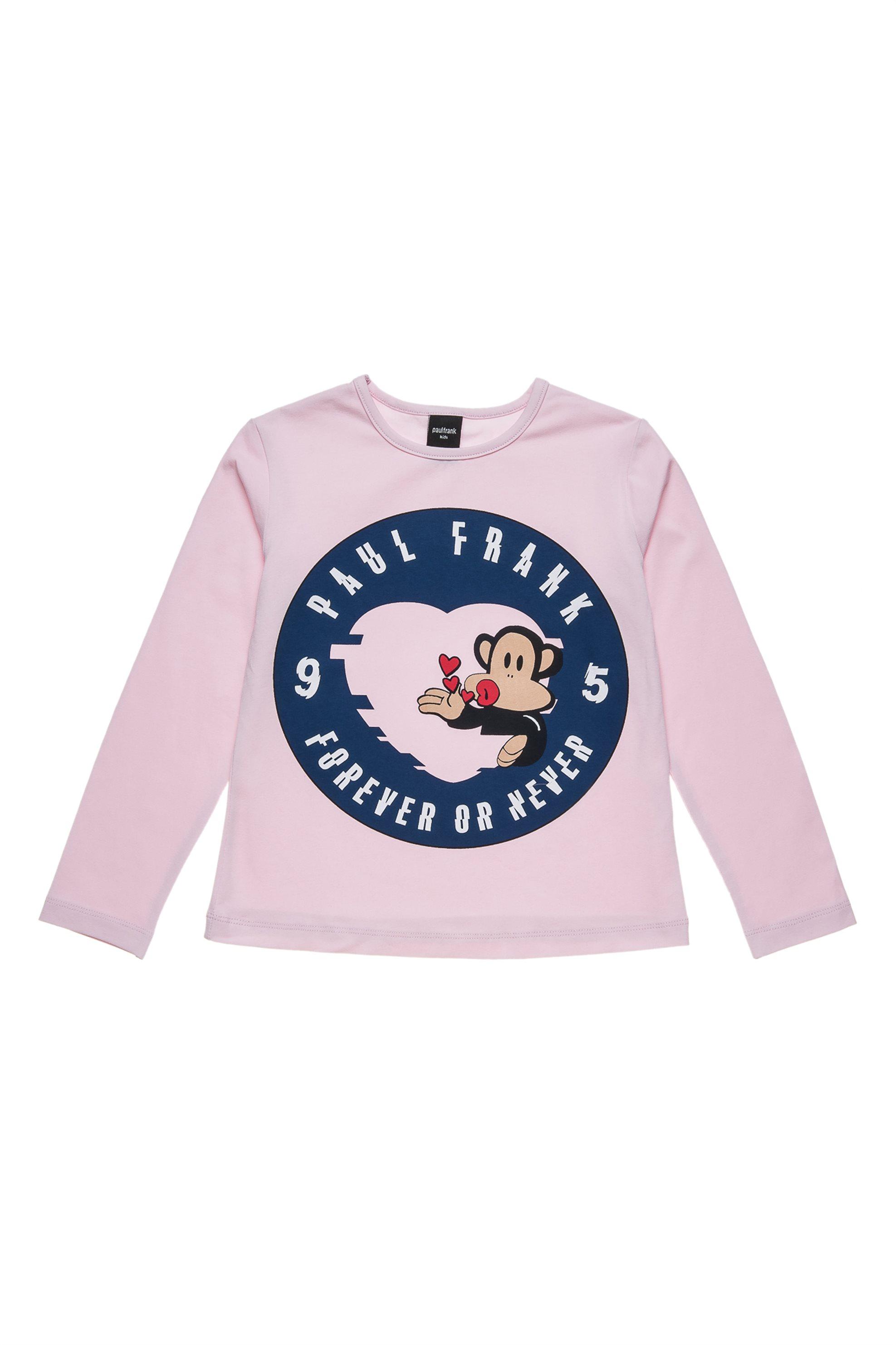 Παιδική μπλούζα Forever or never (6-14 ετών) Paul Frank Collection - 00121287 -  παιδι   κοριτσι   4 14 ετων   tops   παντελόνια   μπλούζες   πουκάμισα   μπλούζε
