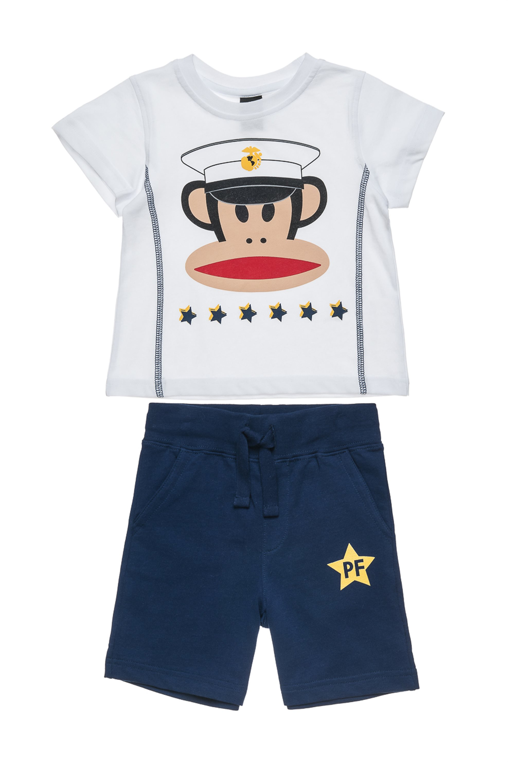 Βρεφικό σετ T-shirt και βερμούδα (Αγόρι 12 μηνών-5 ετών) Paul Frank Collection - παιδι   βρεφικα αγορι   0 3 ετων   αγορι   4 14 ετων   ρούχα   σετ ρούχων   σετ