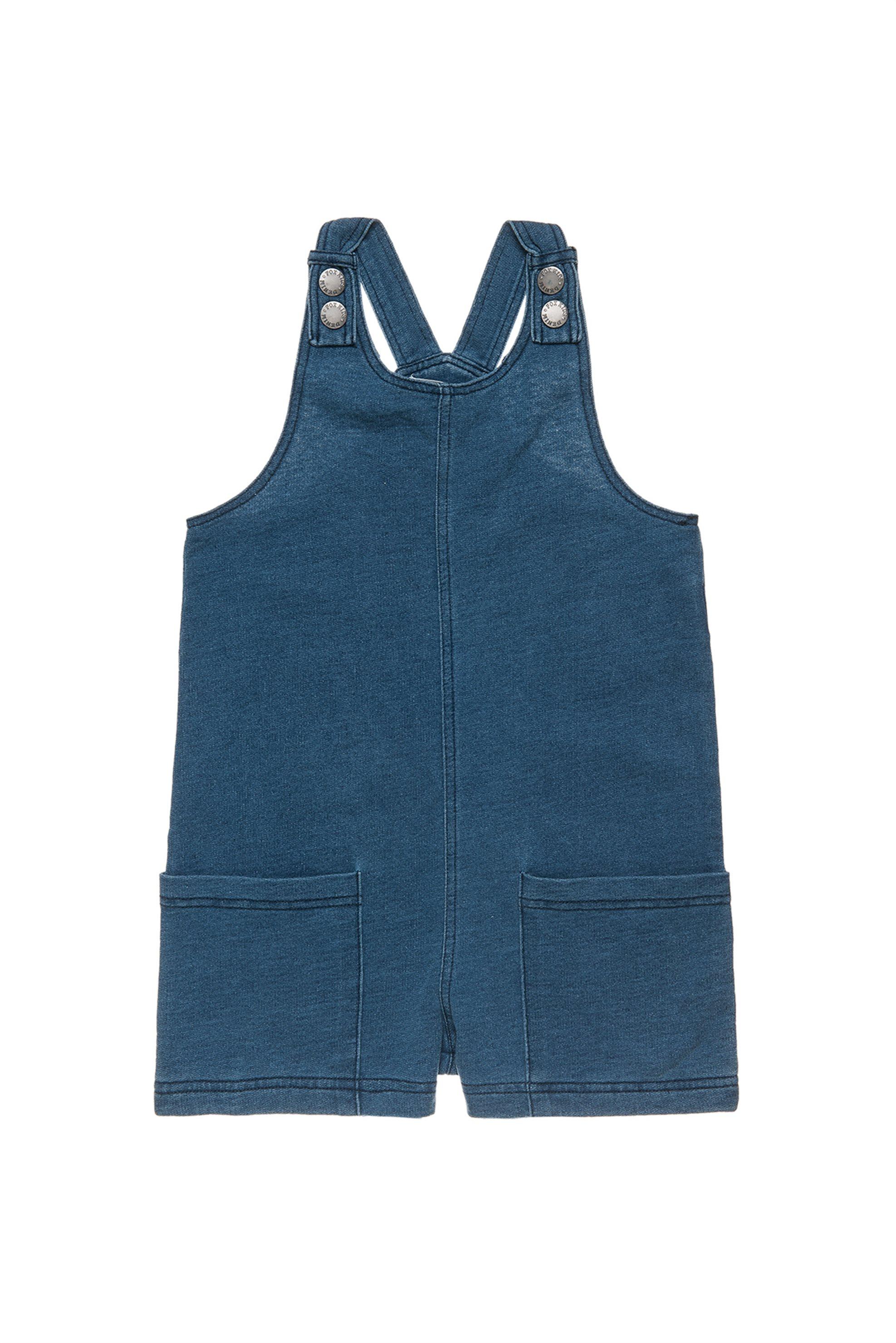 Σαλοπέτα jean (6-16 ετών) Fox - 00912785 - Μπλε παιδι   κοριτσι   4 14 ετων   tops   παντελόνια   σαλοπέτες