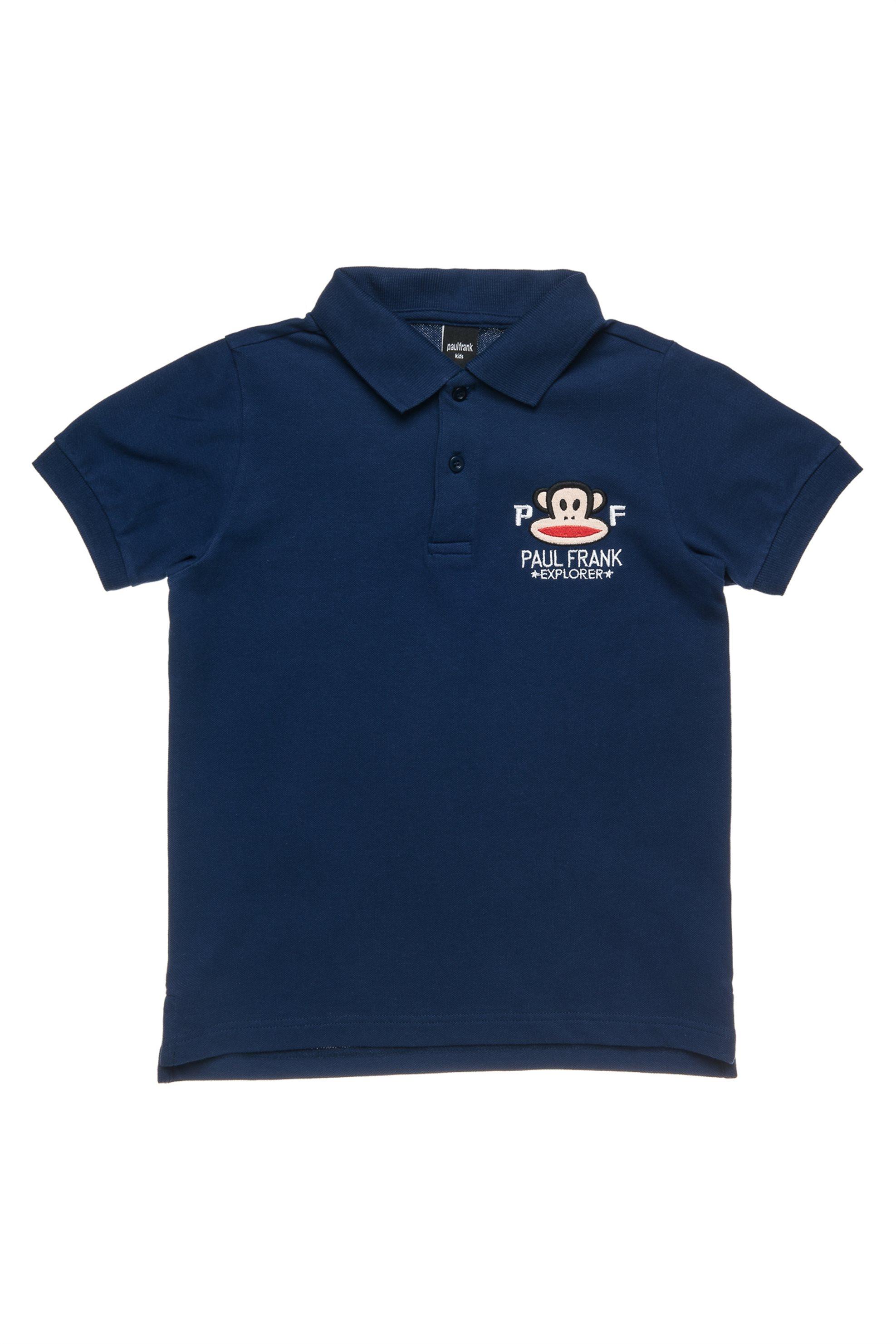 Παιδική μπλούζα polo (6-14 ετών) Paul Frank Collection - 00151647 - Μπλε Σκούρο παιδι   αγορι   4 14 ετων   μπλουζάκια   παντελόνια   μπλουζάκια   πόλο   μπλούζ