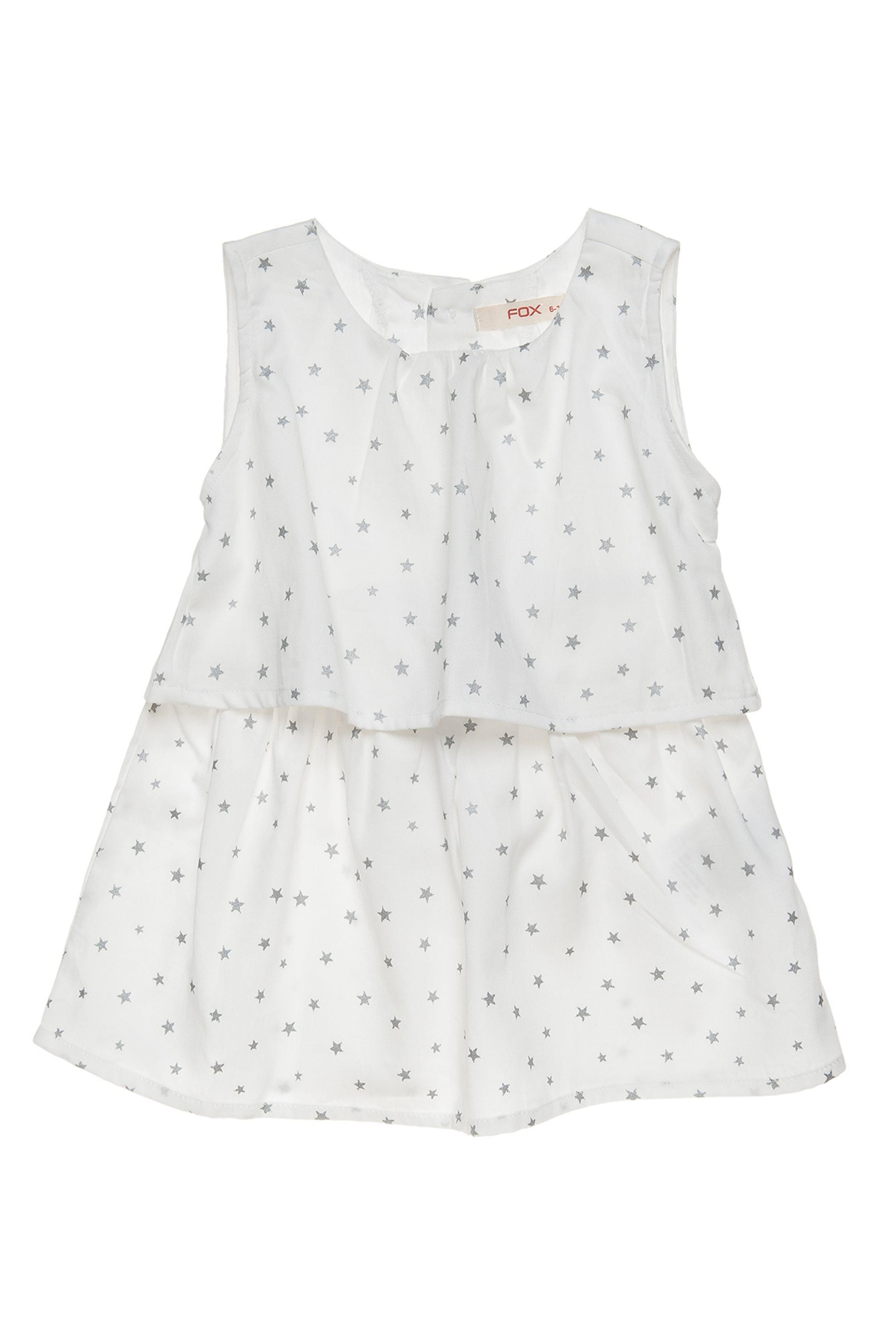 Βρεφικό φόρεμα αμάνικο με print Alouette - 00241266 - Λευκό παιδι   βρεφικα κοριτσι   0 3 ετων   ρούχα   φορέματα   φούστες