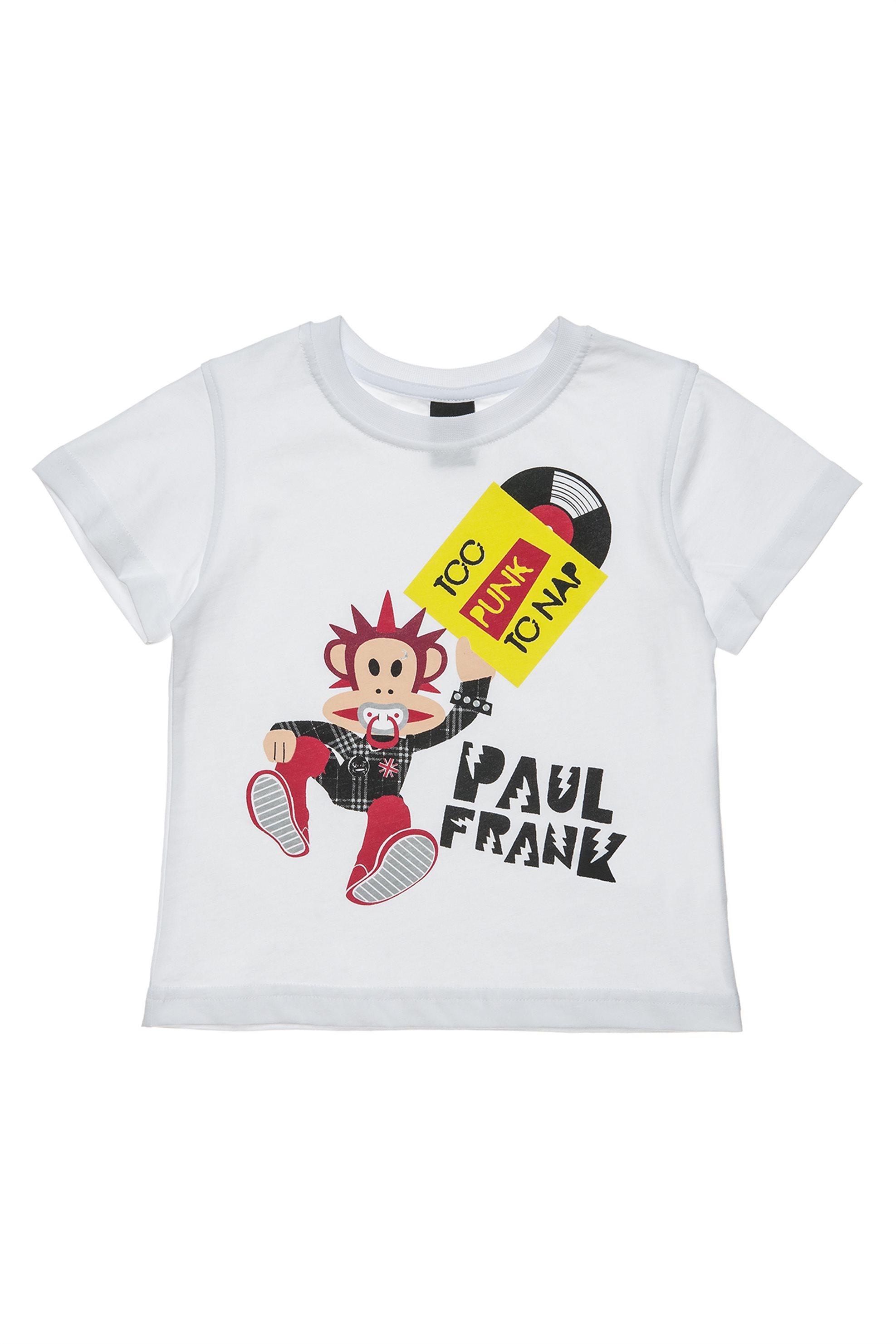 Παιδικό σετ T-shirt με print (18 μηνών-5 ετών) Paul Frank Collection - 00350695  παιδι   βρεφικα αγορι   0 3 ετων   αγορι   4 14 ετων   ρούχα   μπλουζάκια   παντ