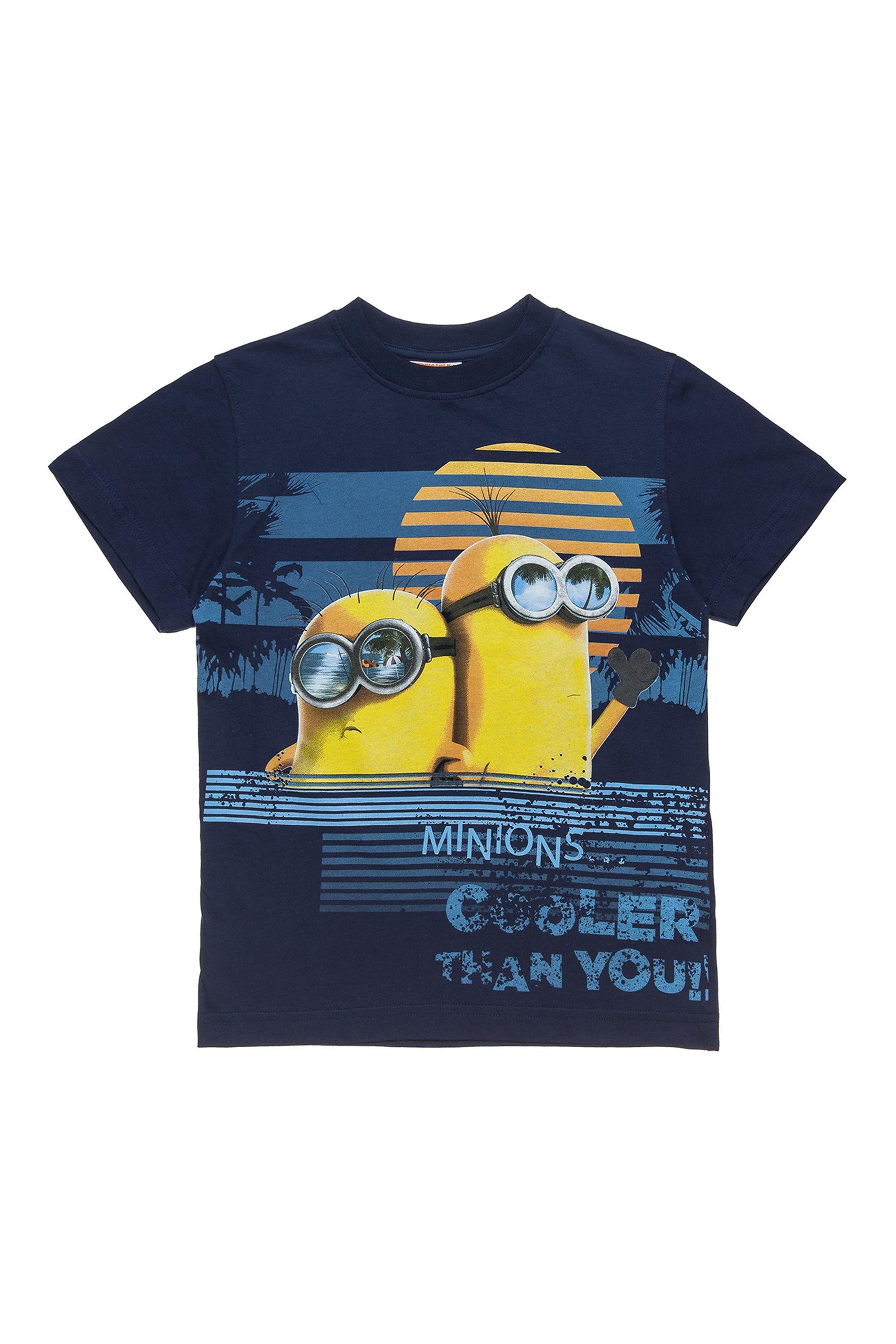 3d89d4f0721 Notos Alouette παιδικό T-shirt με τύπωμα μπροστά Minions (5-14 ετών) -