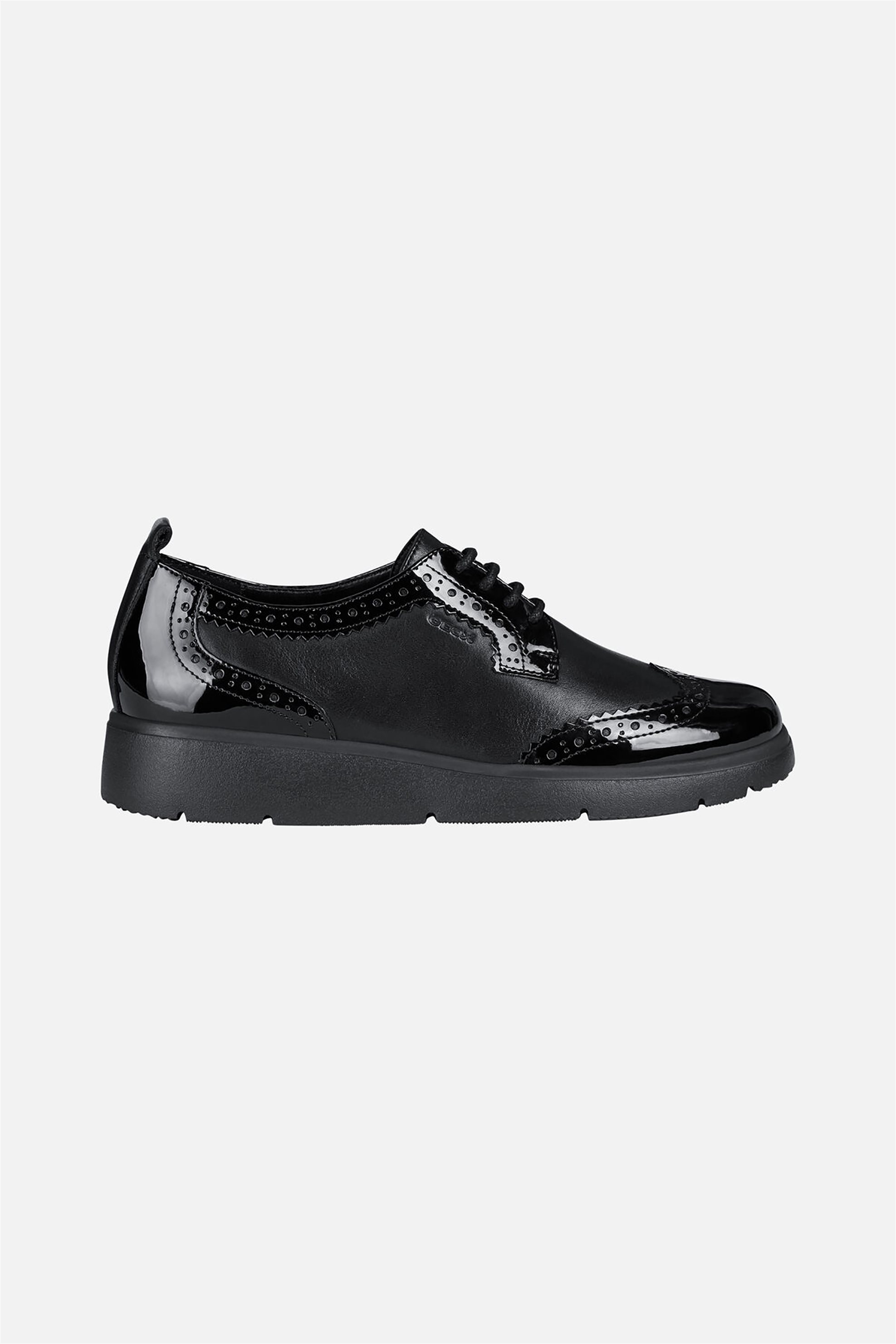 "Geox γυναικεία παπούτσια oxford ""Arlara"" – D04LCI – Μαύρο"