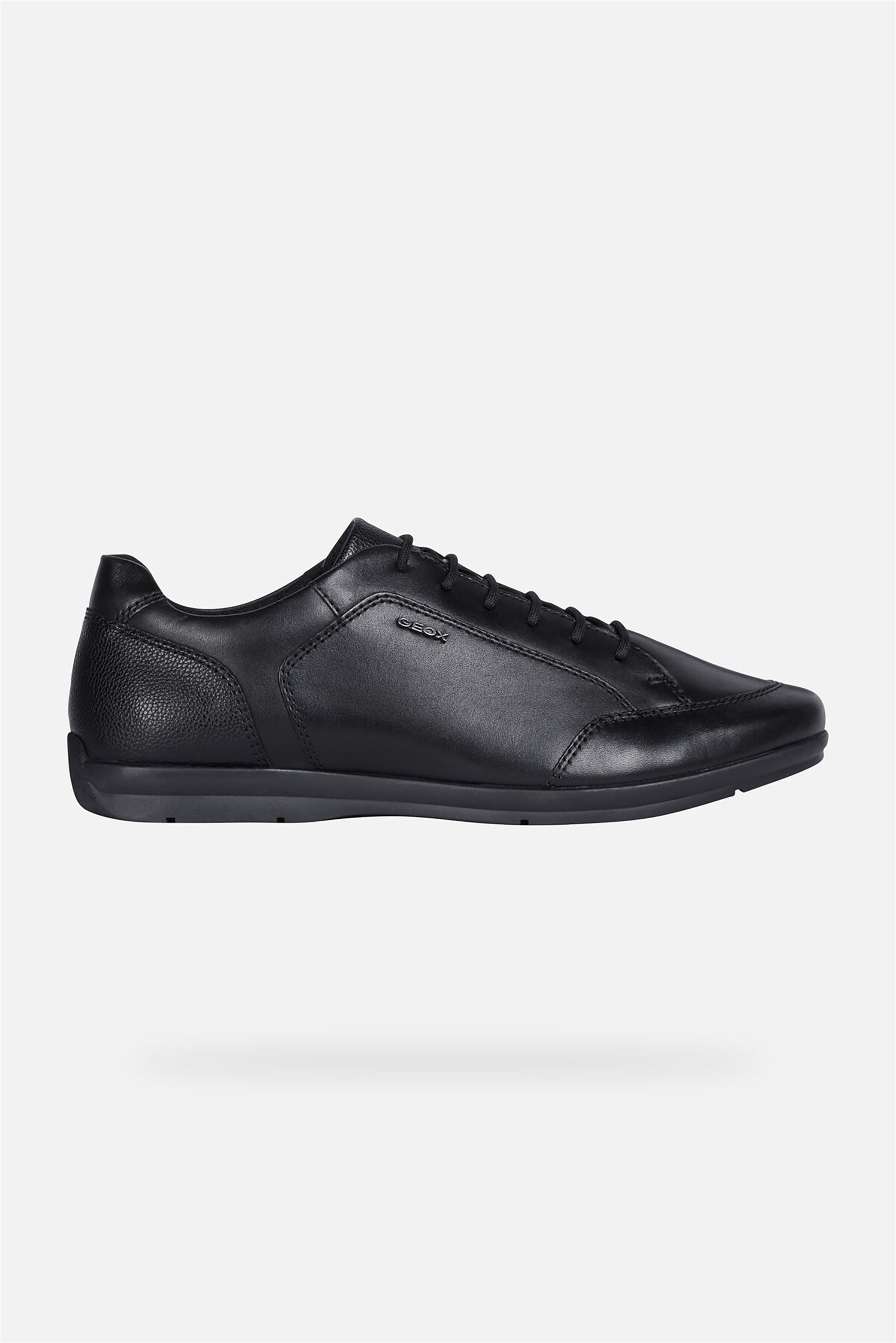 Geox ανδρικά παπούτσια με κορδόνια Adrien – U947VA – Μαύρο