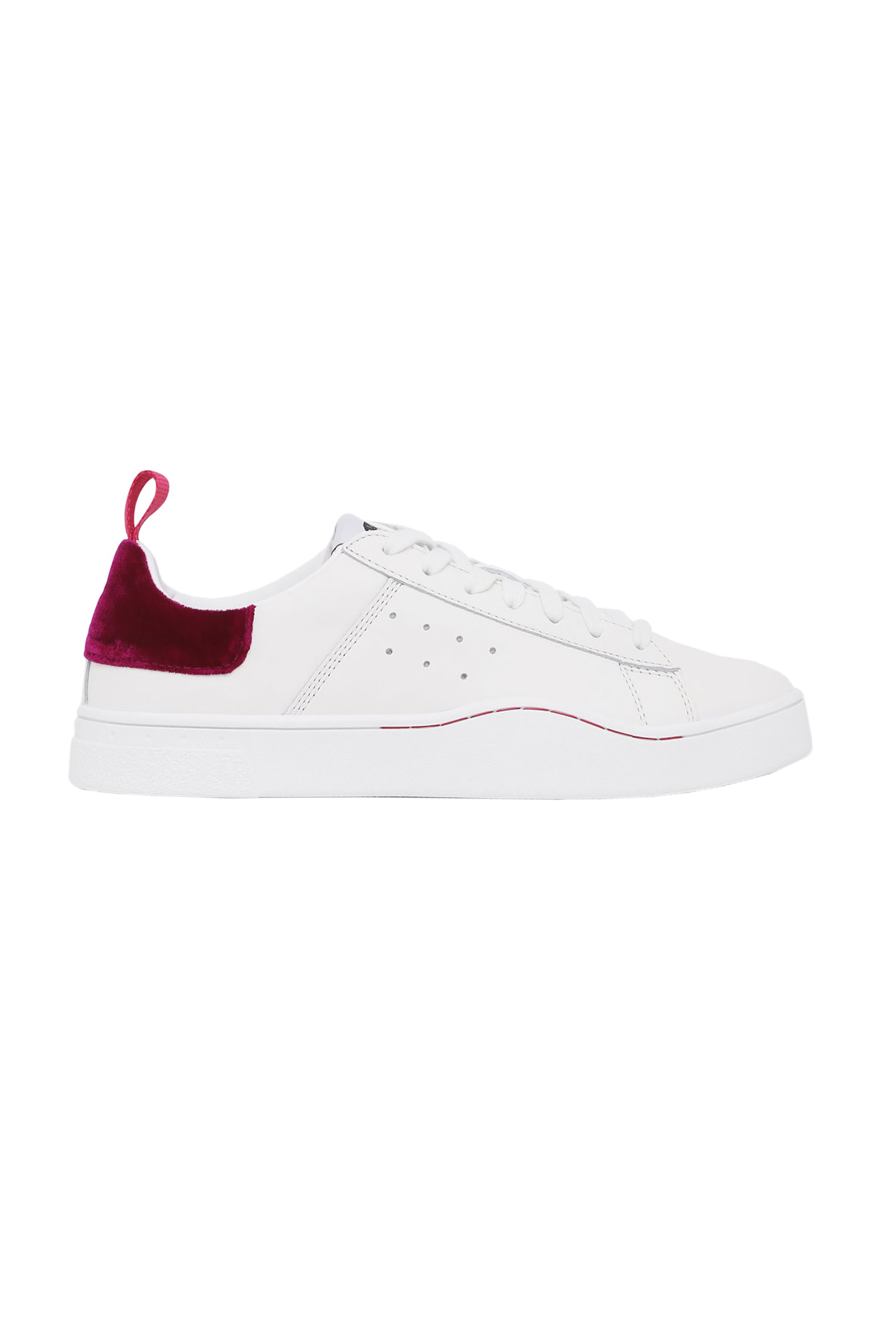 4daf09f7952 Γυναικεία παπούτσια Diesel γυναικεία sneakers με κορδόνια S Clever Low -  Y01752 P2086 - Λευκό | My Lady Shoes